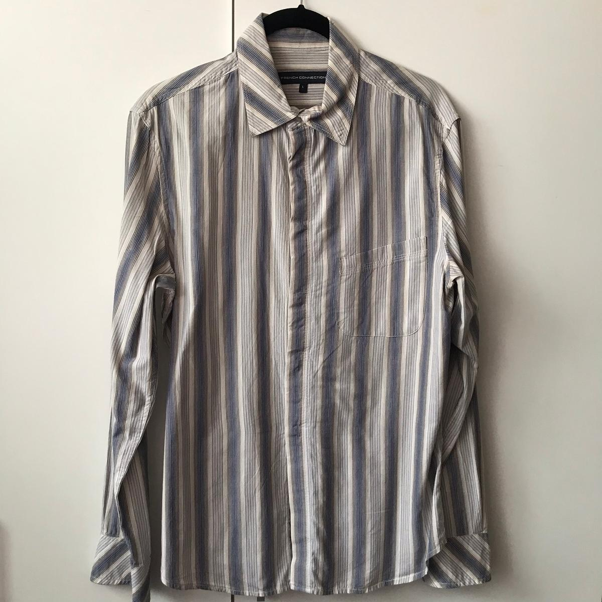 Stunning French Connection Causal Summer Shirt Brand new Size L Mixture of lovely colours, please look at the last picture for exact colour