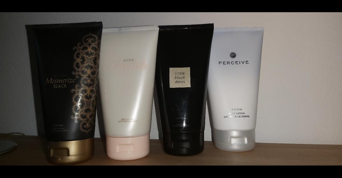 Perceive, Little Black Dress, Cherish, Mesmerize Black Körperlotion 150 ml Pro Stück: 3 Euro