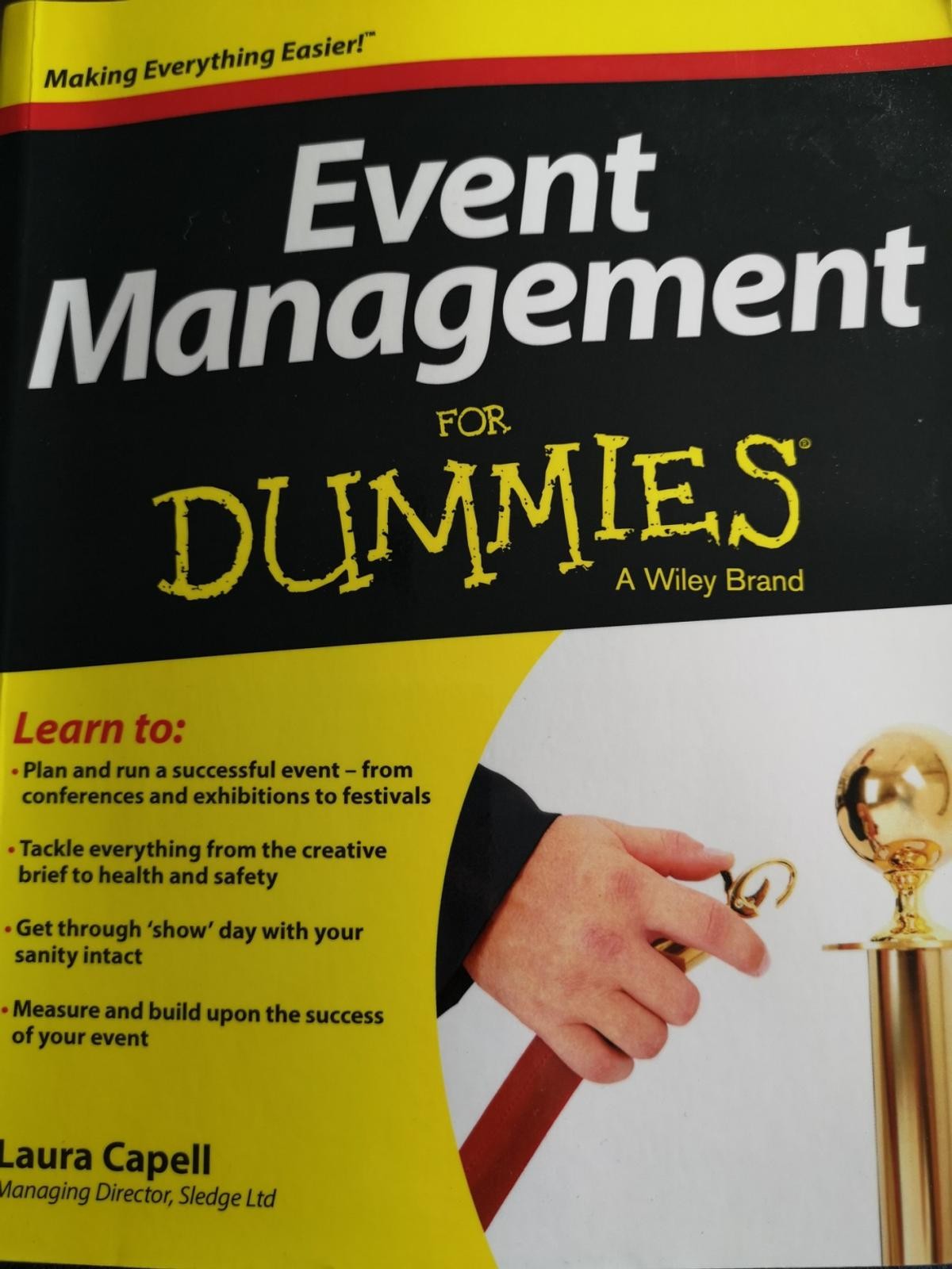 Event management course Everything you need to know if you're studying events management