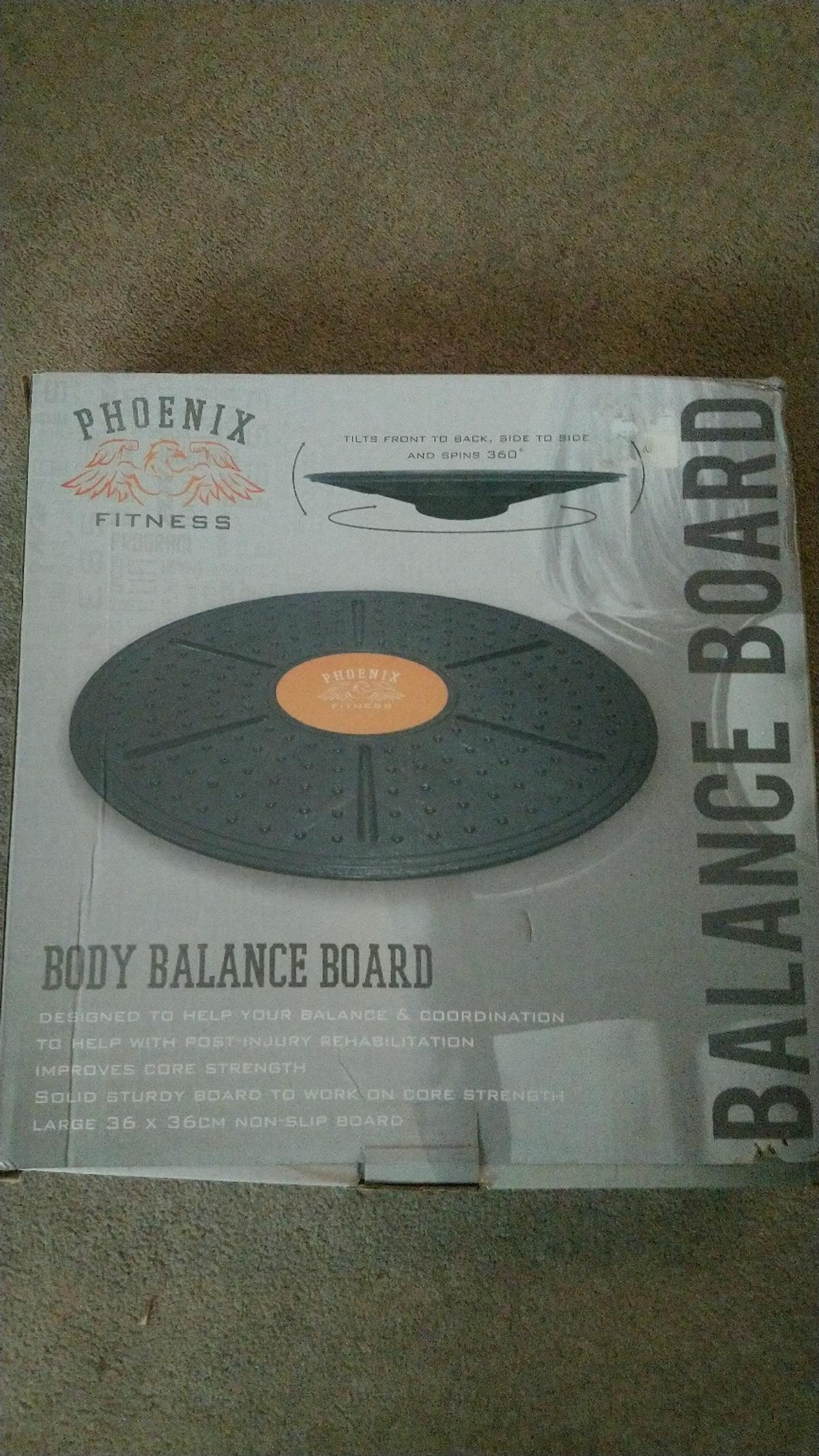 PHOENIX FITNESS BODY BALANCE BOAED  FOR LEGS AND CORE  AS NEX, BOXED