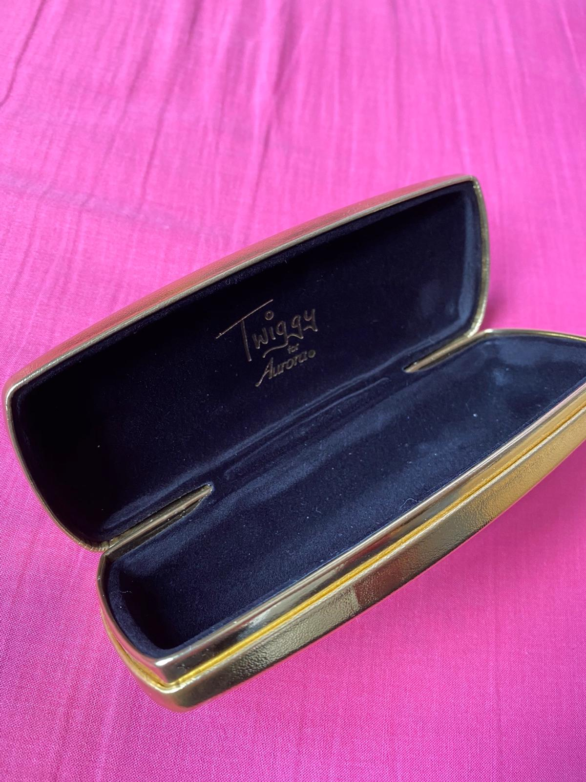 Gold Glasses case Never used