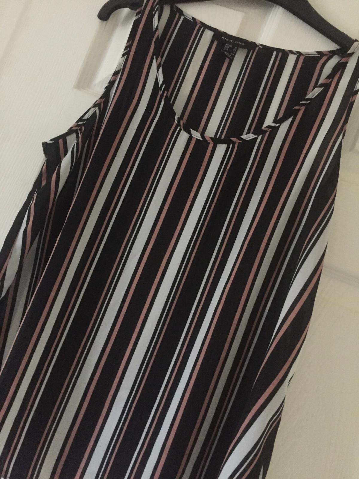 Striped summer/lightweight top, sleeveless Bought from Primark . Pet free home can post