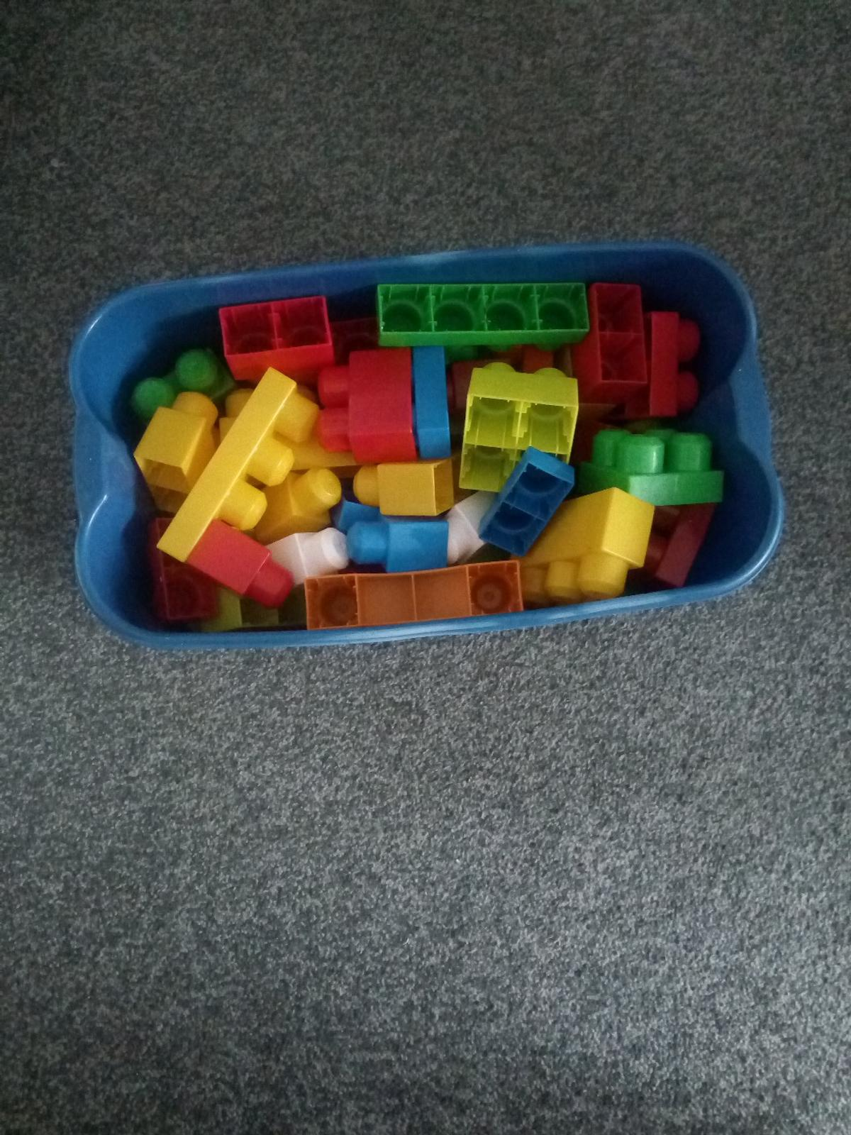 in the night garden tub full of Lego peices good condition