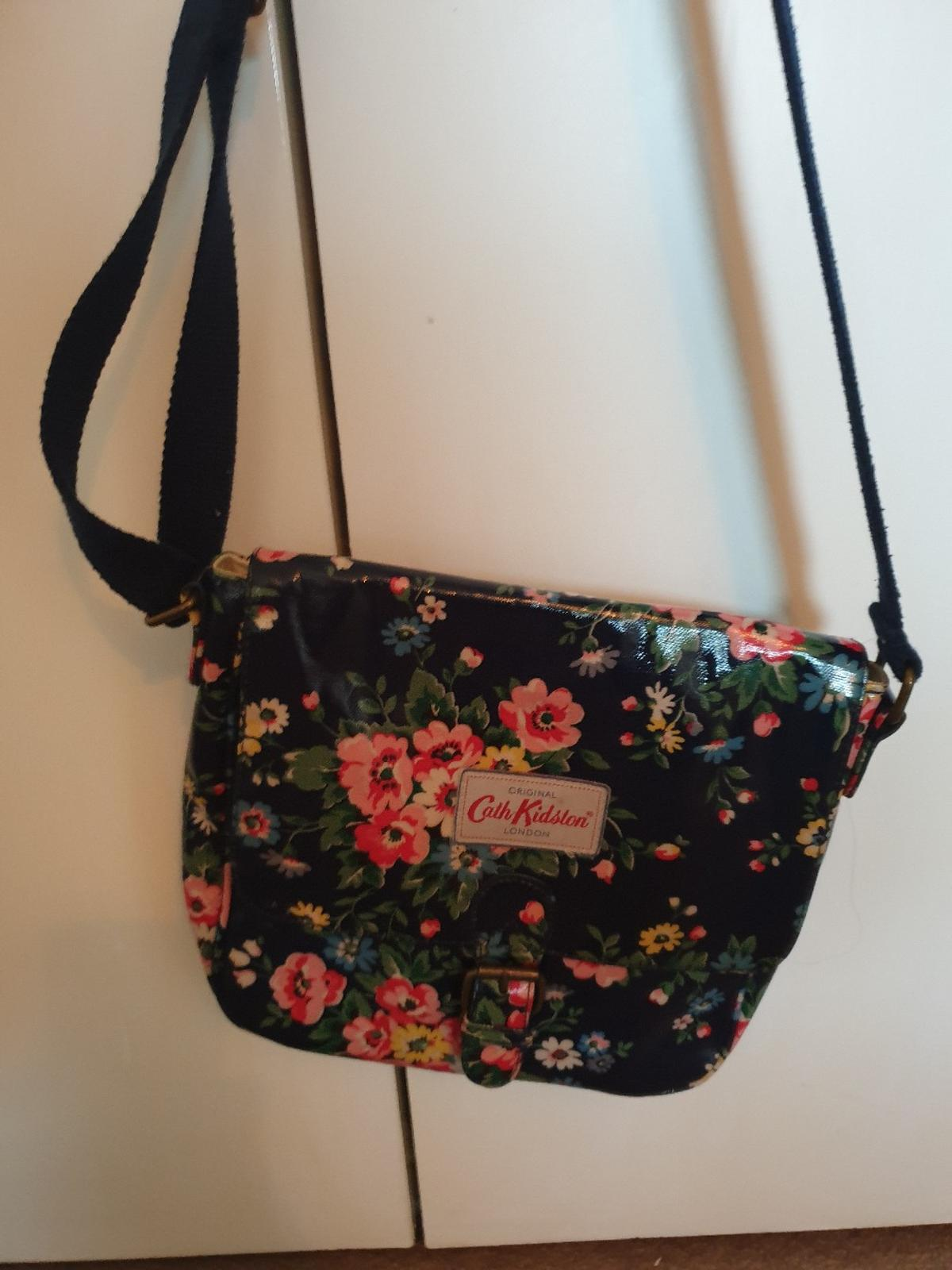navy floral cath kitson side bag  collection only