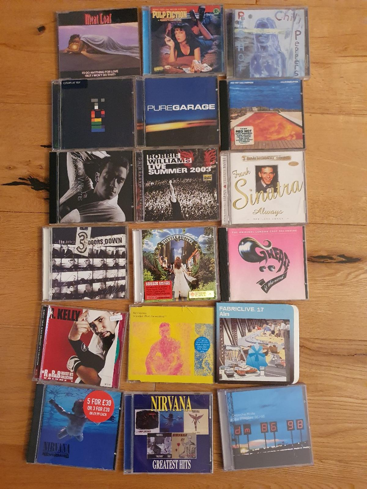 cds rare titles sought after 5 pounds each