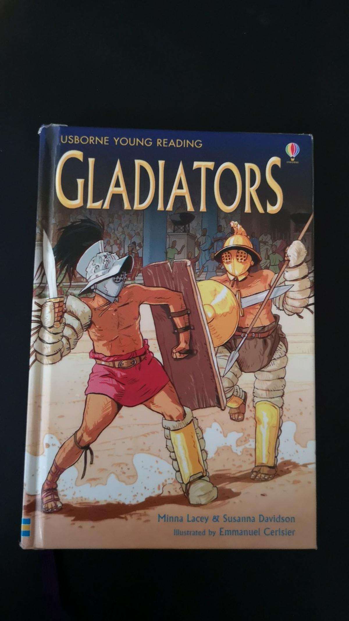 A well illustrated book about gladiators!