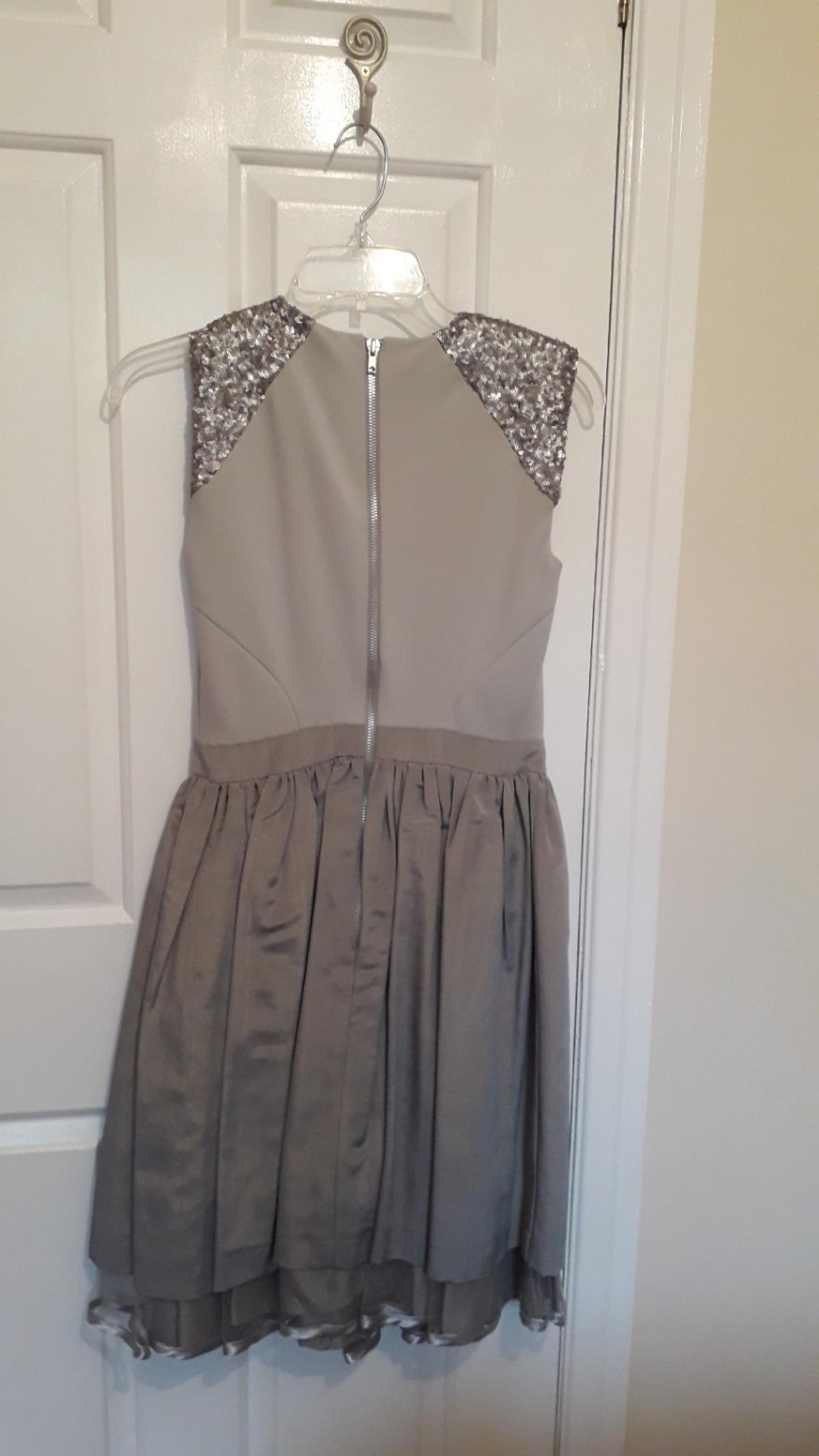 grey and silver beautiful dress brand new