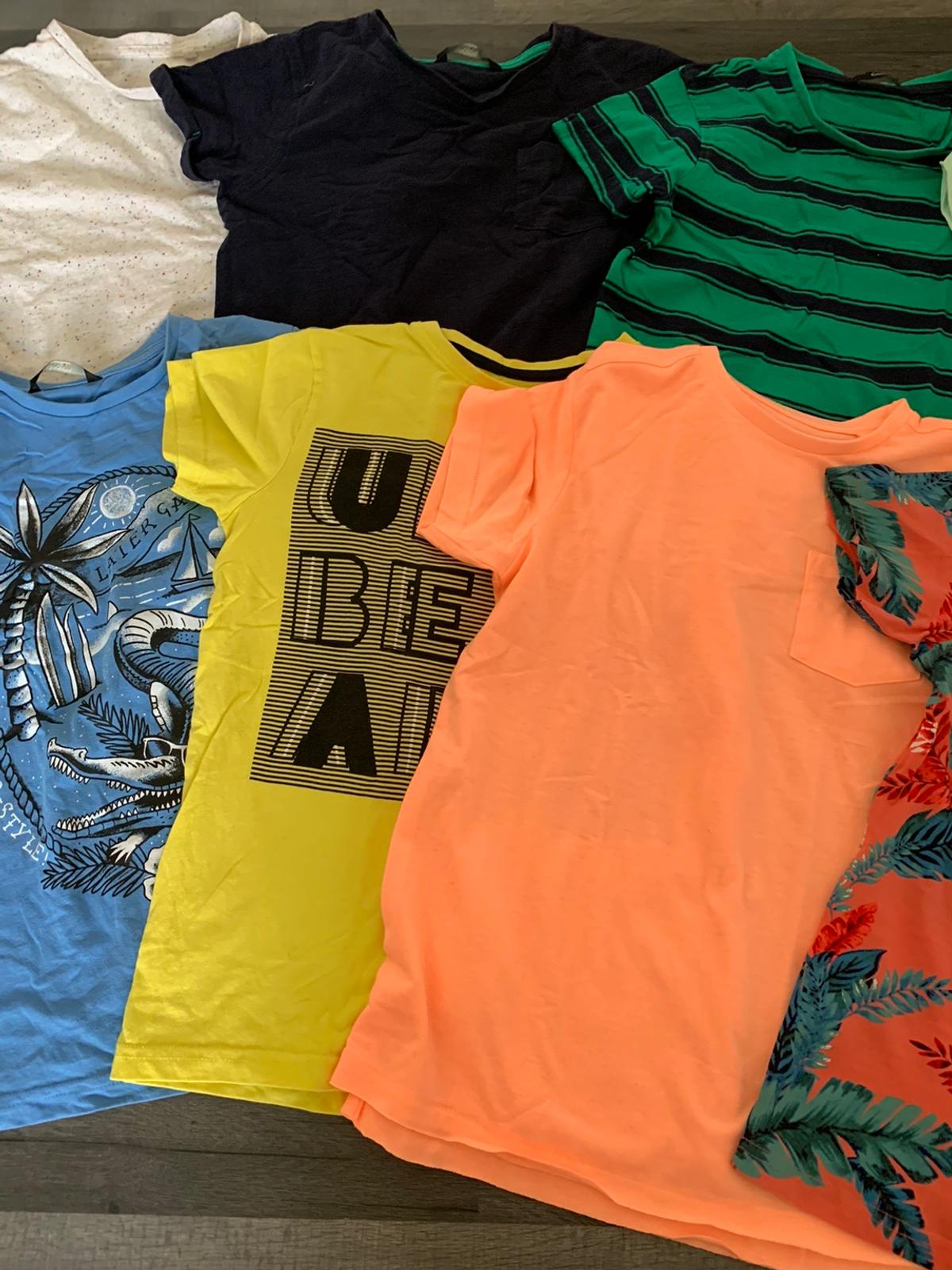 A nice bundle of Asda boys T Shirts. From a pet and smoke free home.