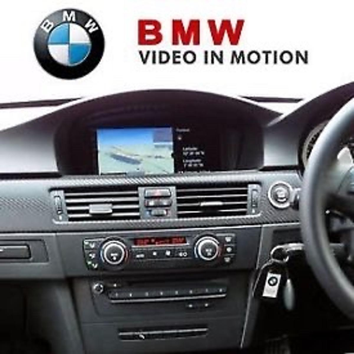 Offering full activation of bmw video in motion meaning your dvds/usb will continue to play whilst car is in motion this works for all Bmw models that have dvd/usb video file playback