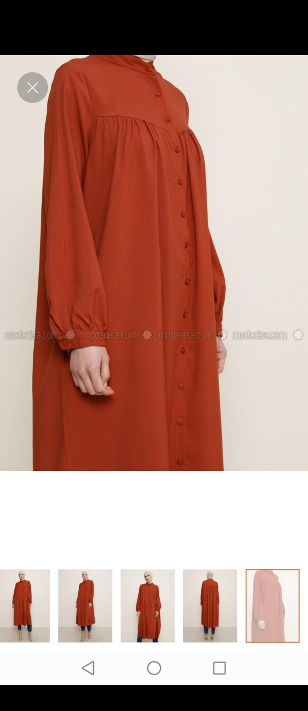 Terracota shirt dress in size 12 Brand new unused Perfect for timeless fashion look