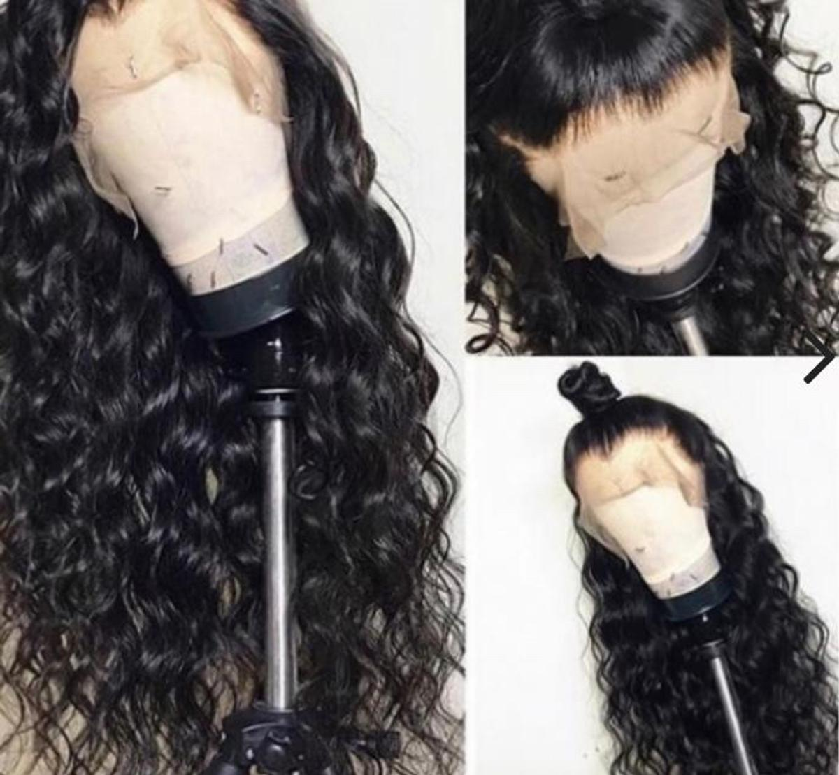 """With baby hair and pre plucked bleached knots  Available in 8inches-26inches Available in 130%, 150%, 180% density Lace front or full lace ‼️Price shown is for lace front 16"""" 130% density ‼️Price varies so please message before buying ‼️Please tell us your cap size ‼️Please tell us your preferred parting (right/left, middle or free)"""