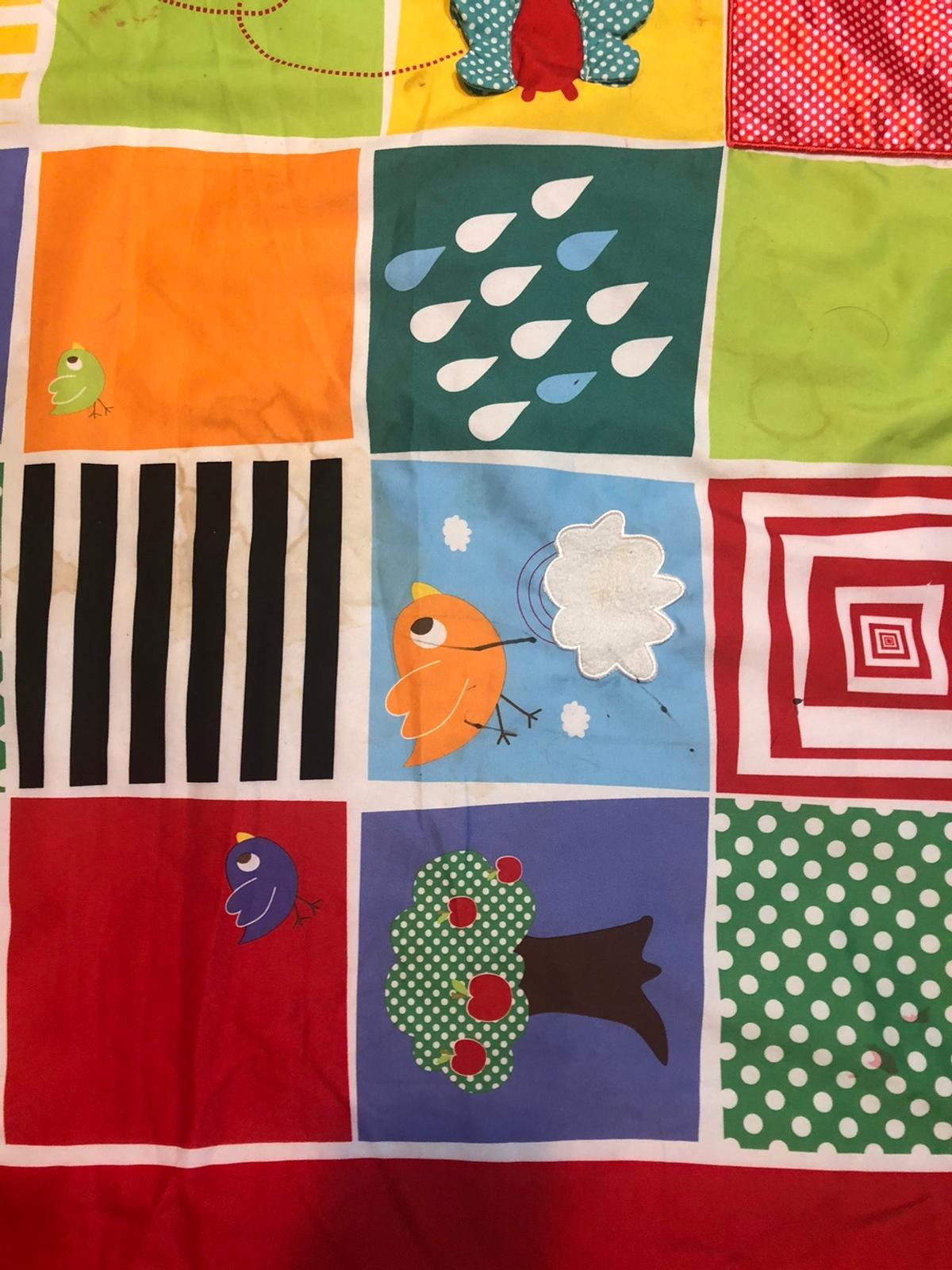 Baby play mat from Mamas&Papas In very good condition. With a beautiful and amazing colour and design which helps to attract baby's attention.