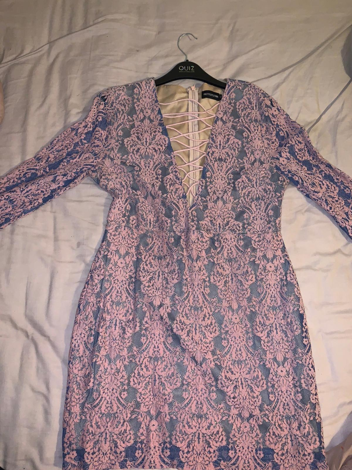 Women's dress from pretty little thing never been worn brilliant conditions