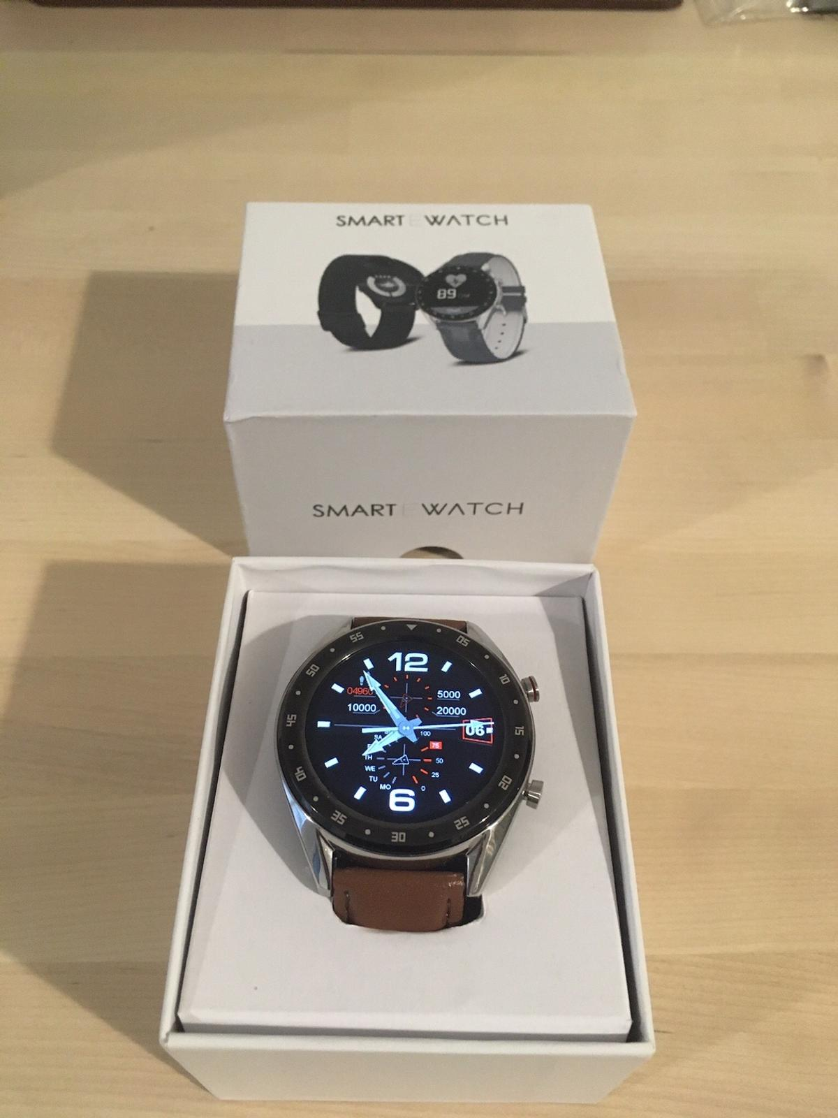 G7 TocWatch. Bought just a couple of weeks ago for £89, only worn a few times. Complete with box and charger, plastic cover still on watch face.