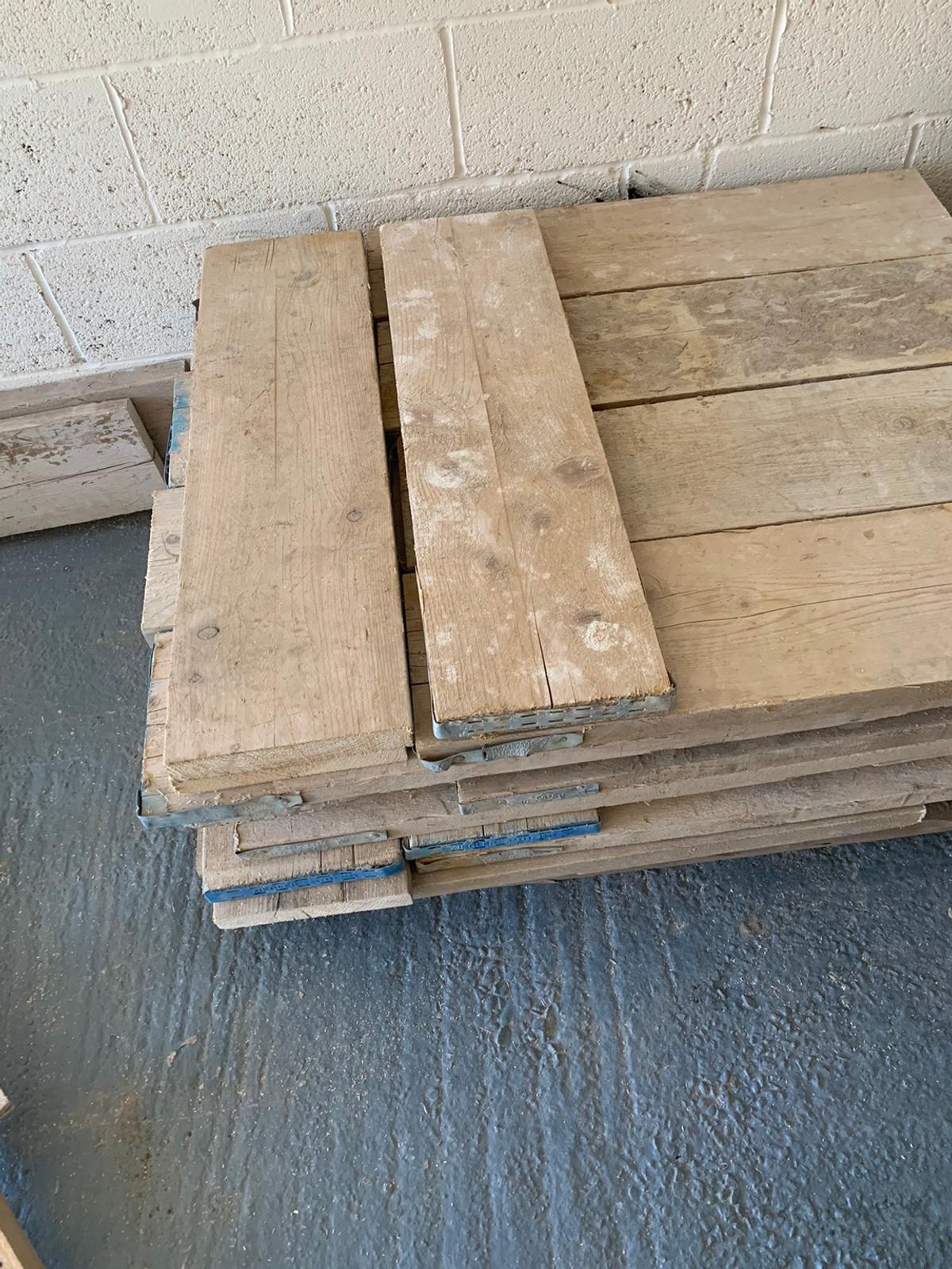 Reclaimed scaffold boards in South Derbyshire for £13.00 ...
