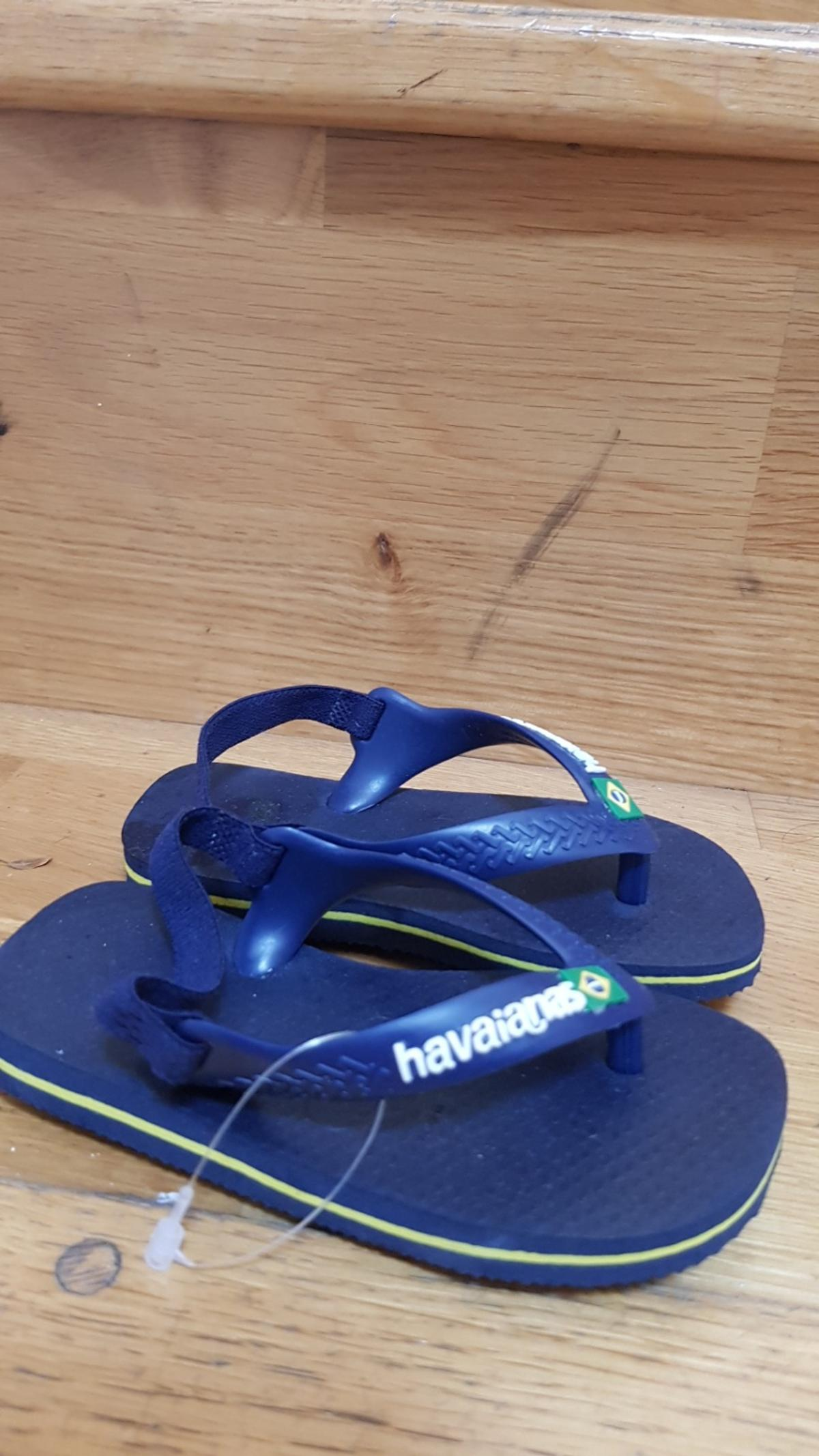 Perfect condition Hawaianas boys sandals size 22.UK size 5? Never worn. Collection from Crouch End or I can post