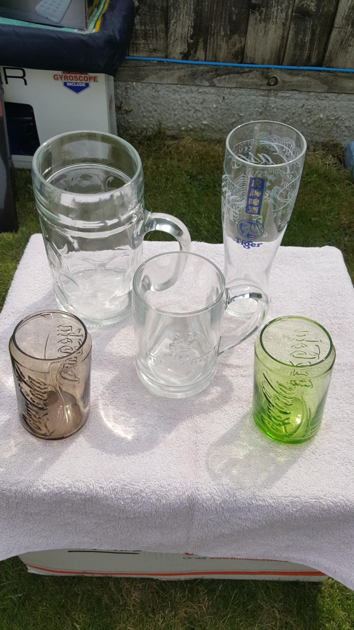 coke can collectable glasses and others.  COLLECTION ONLY.