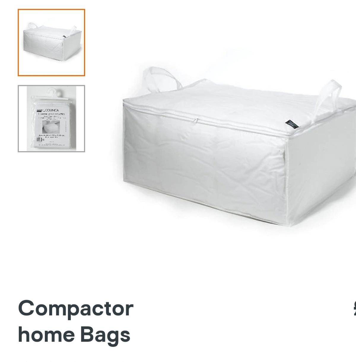 compactor home bags under bed storage I have 7 available (W)700mm (H)300mm (D)50cm only £5 each collection only