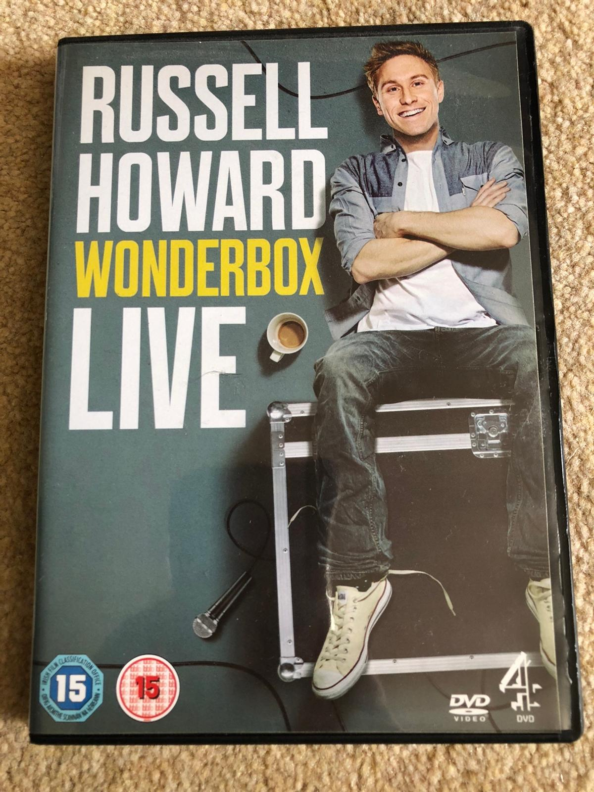 Russell Howard Wonderbox Live Great quality no scratches Rated 15