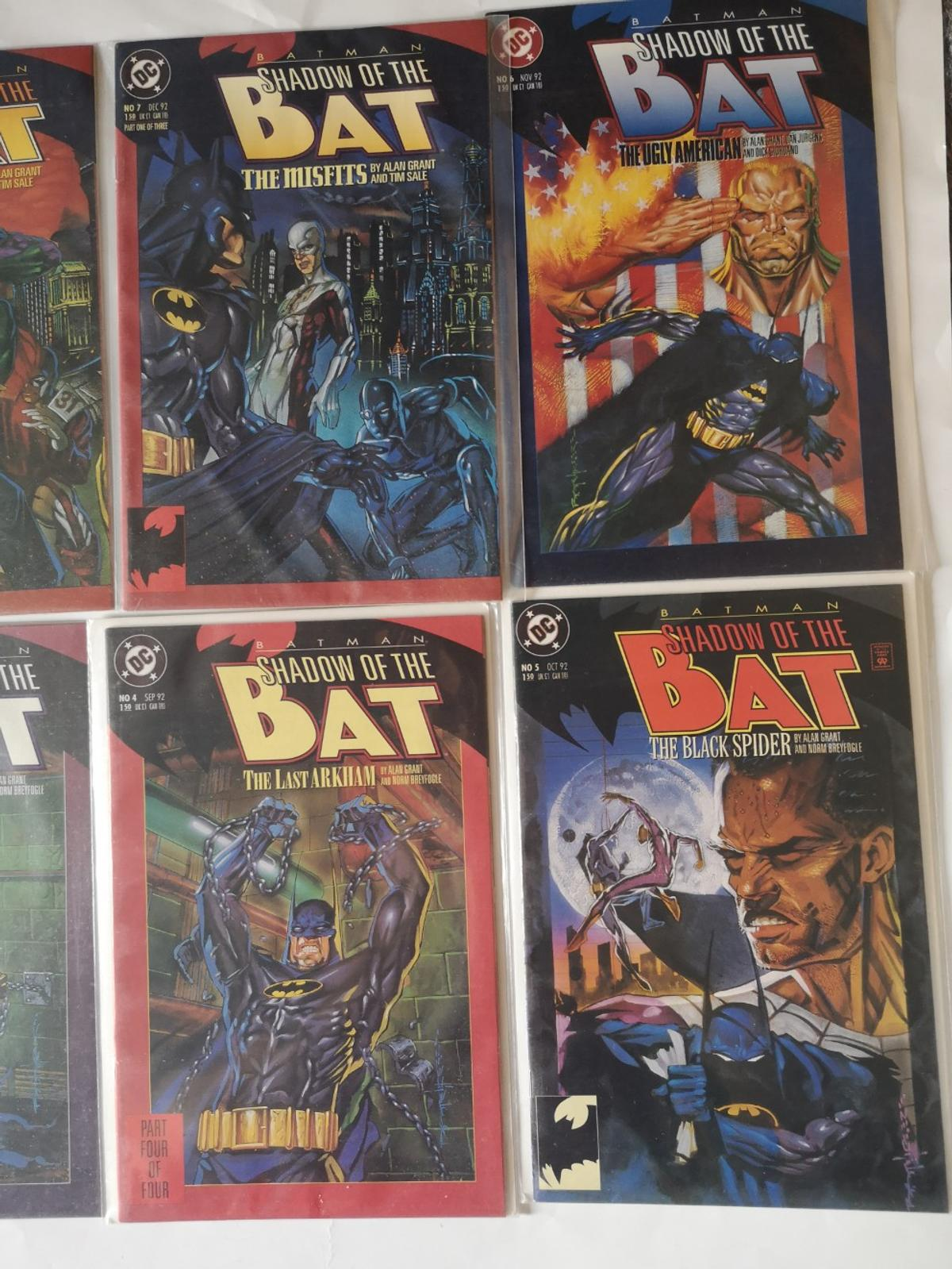 Batman 1-10 issues x10 comics please see photos for condition sold as scene in listing collection Trowbridge or can post for costs on top thanks paypal FF or add fees on top thanks