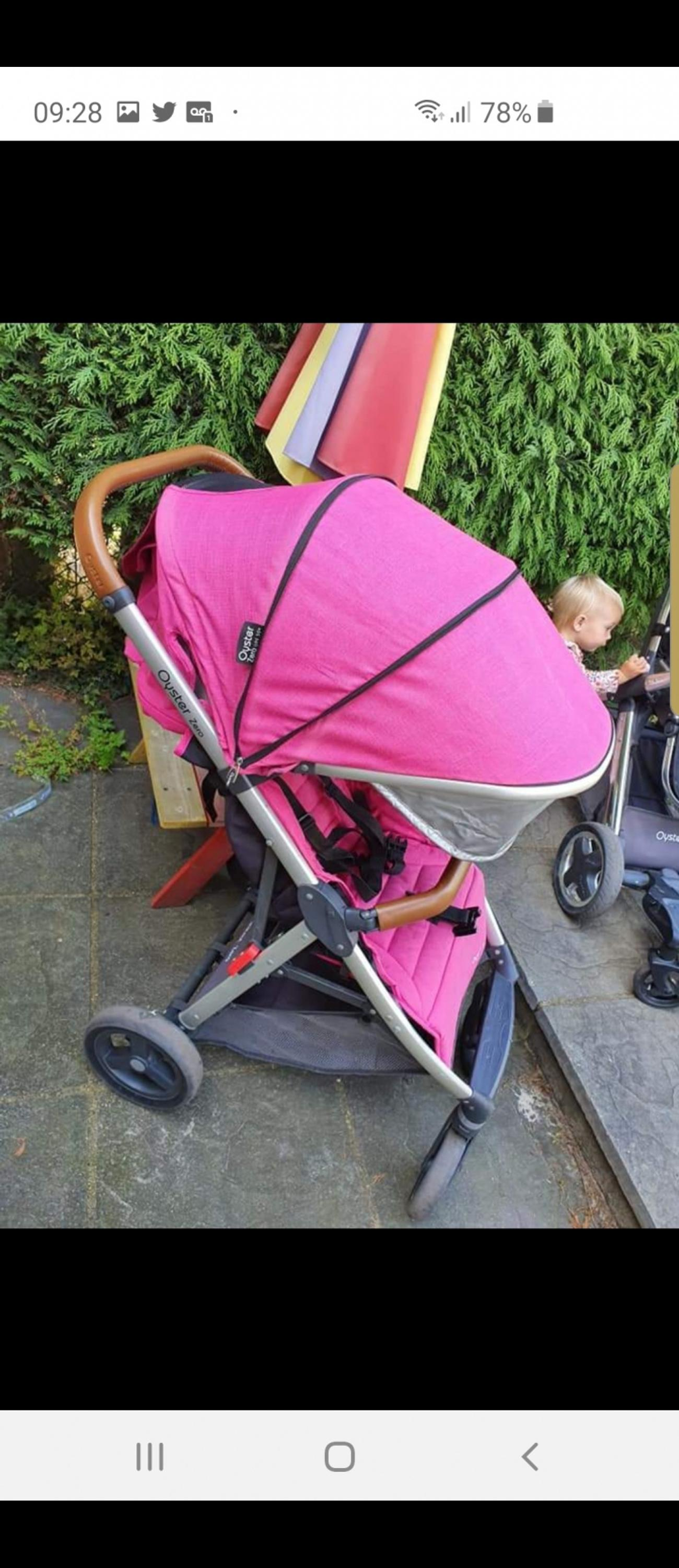 limited edition hot pink. need gone asap great size seat! lovely to push even off road