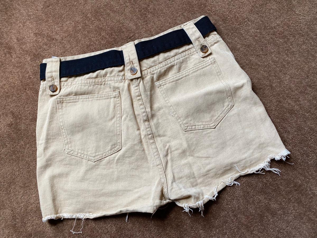 Brand new Never worn  Distressed shorts Includes belt  Size: 12  Postage and collection can be arranged