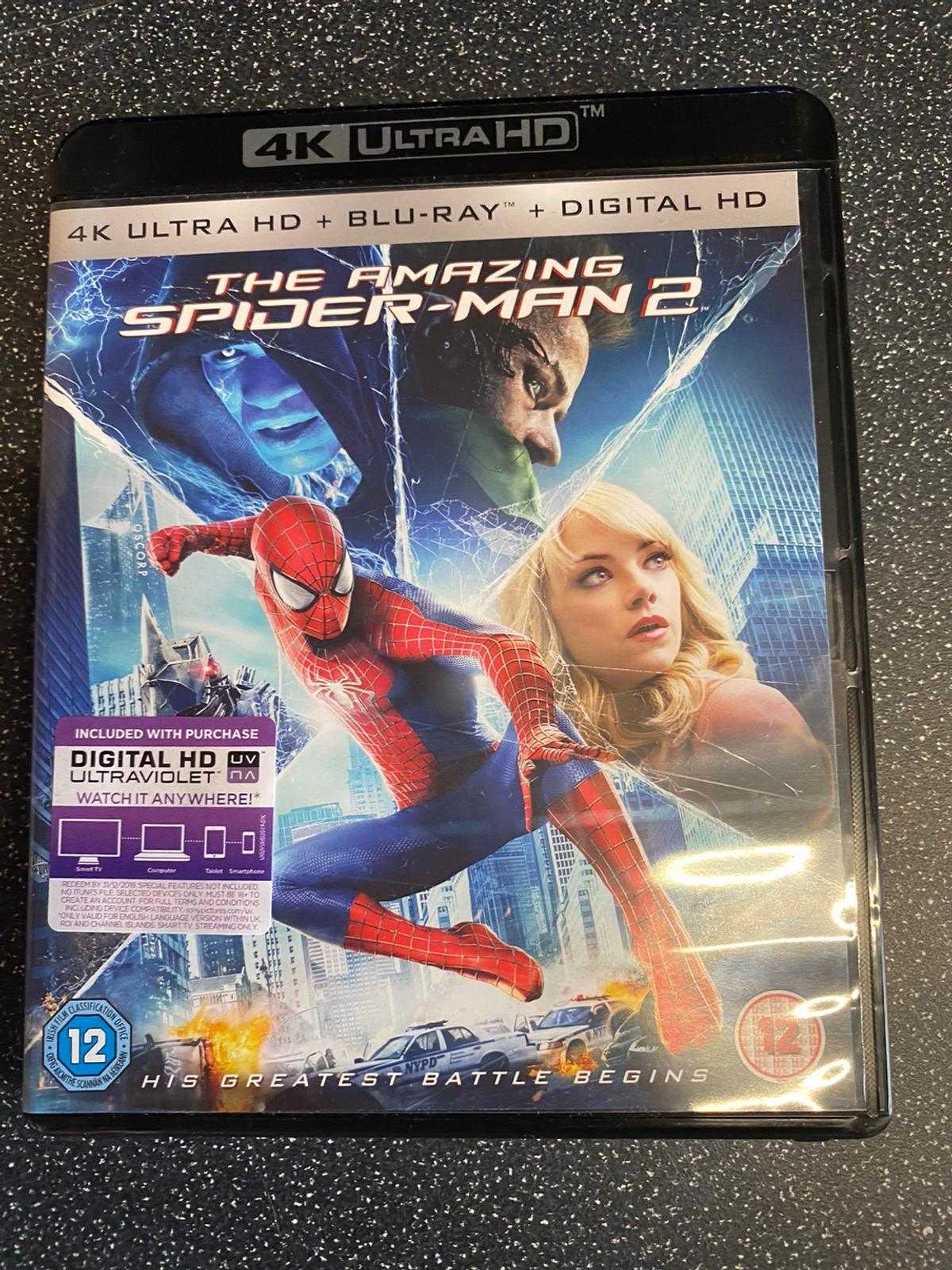 Never been watched but out of seal  Both discs and UV code included - collection or postage for fee