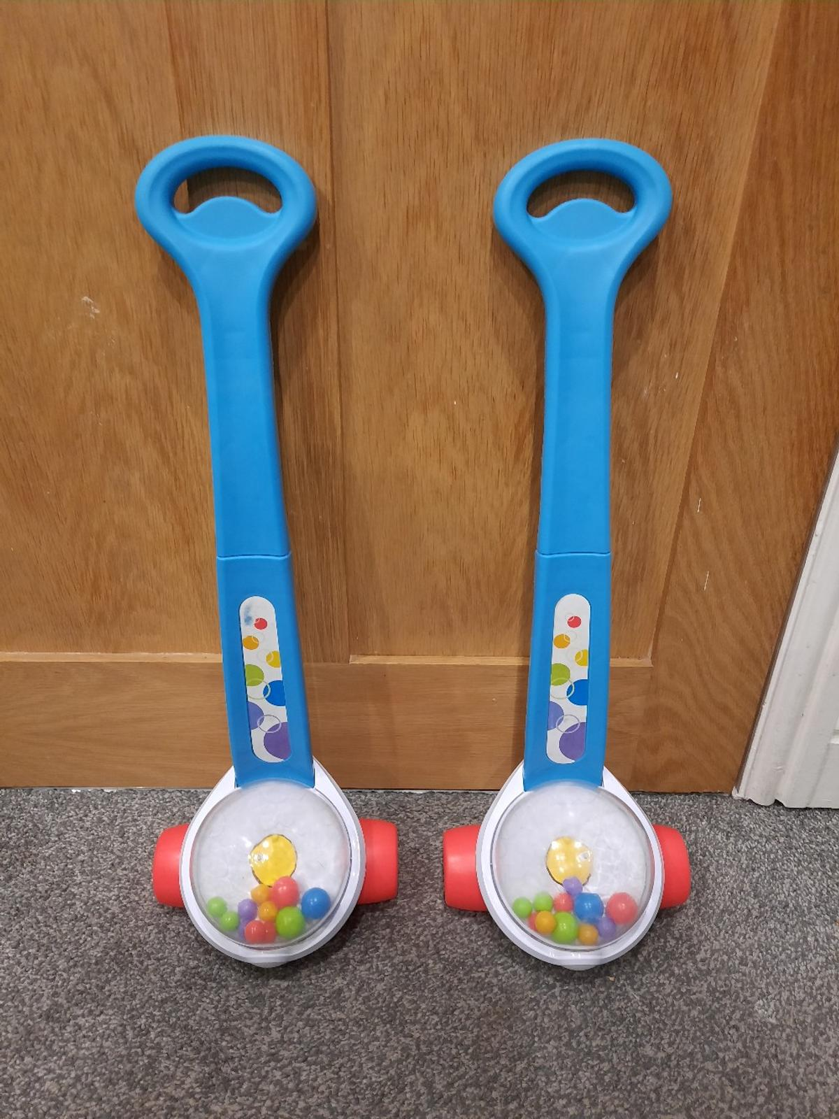 Fisher price corn poppers, used by my girls, still has plenty of use left. I have two, will sell both for £7 or 1 for £4. Smoke and petfree home.  collection only.