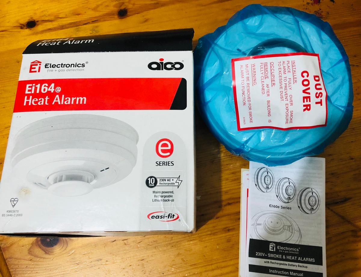 Brand new never been used spareheat alarm for sale.