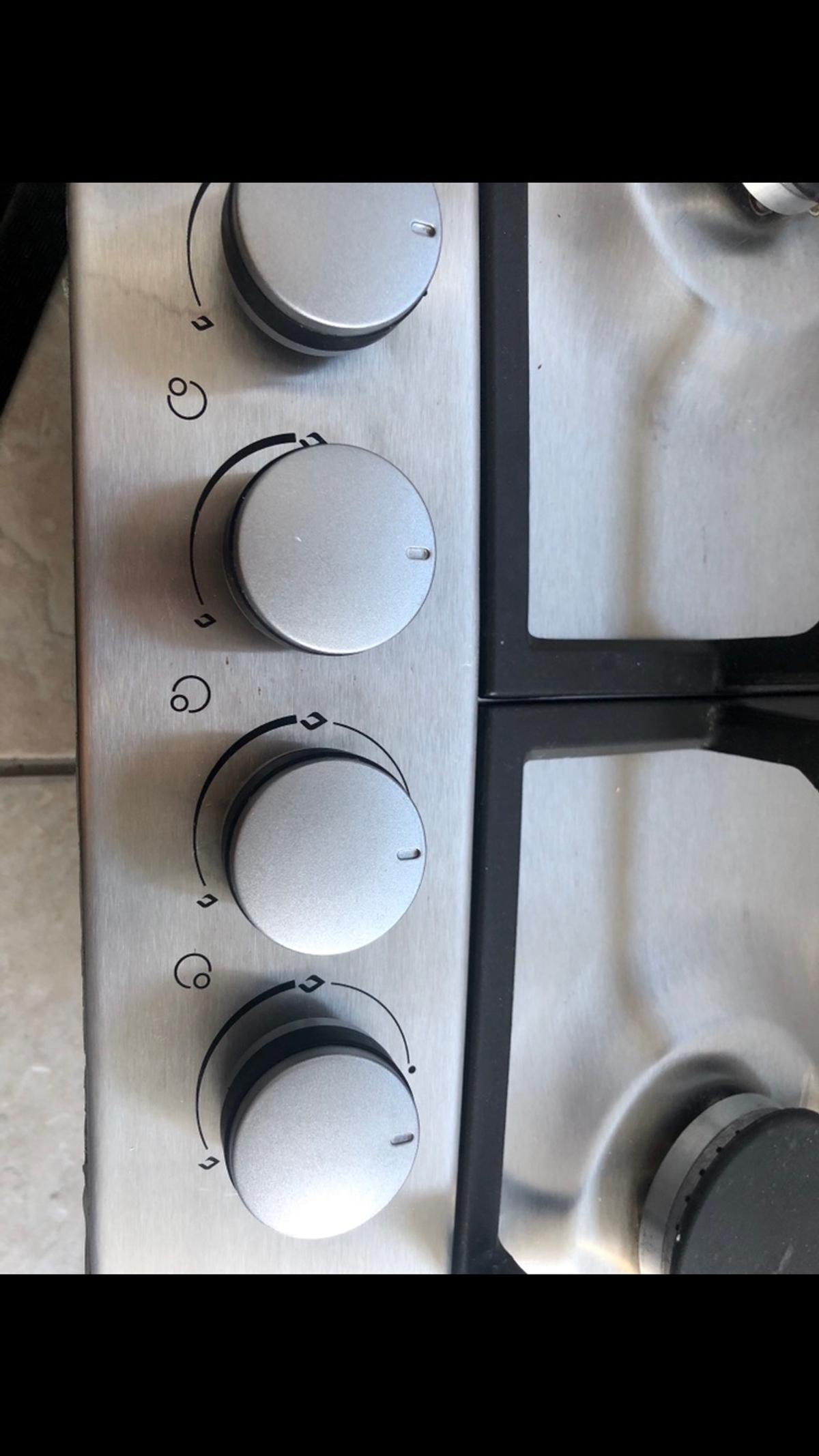 Lamona Stainless steel 4 burner gas hob from Howdens joinery. In great condition only 24 months old. Only changing to replace with larger hob. In full working order great condition from a smoke & pet free home Collection but May deliver locally for additional cost