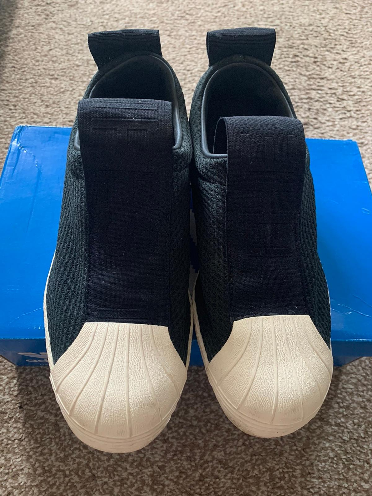Like new, literally only worn twice for a very short amount of time.  Comes in original box. UK size 6.5 but I'm usually a size 6 & fits me comfortably.  Pet free & smoke free home