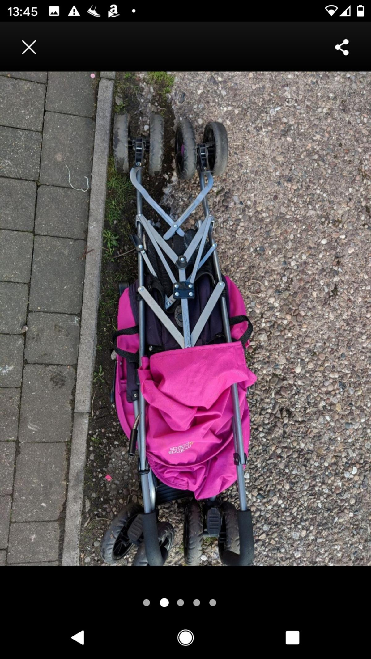 5 point harness, suitable from birth, reclining seat - variable with easy toggle design, forward facing.