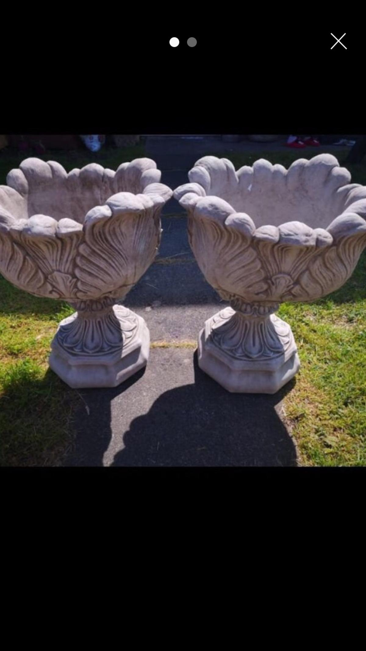 60cm high 50cm wide £65 the pair NO offers collection only
