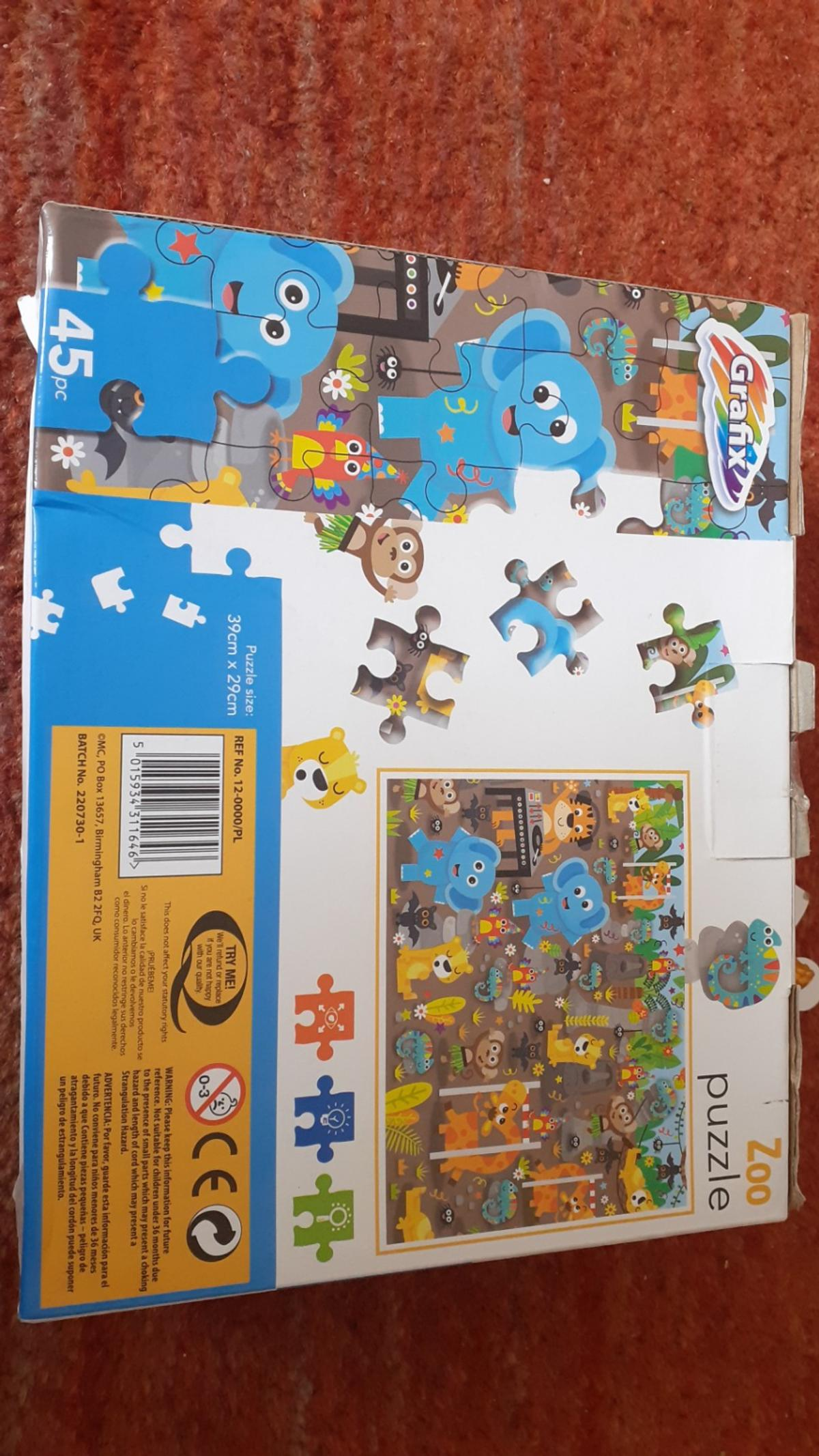 it is kids jigsaw puzzle Brand New not been used before Good Qaulty Products Selling for £2