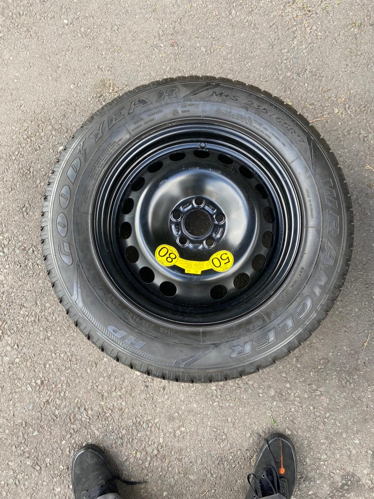 Spare wheel for Land Rover brand new never used clearing out my world garage. 120 ONO