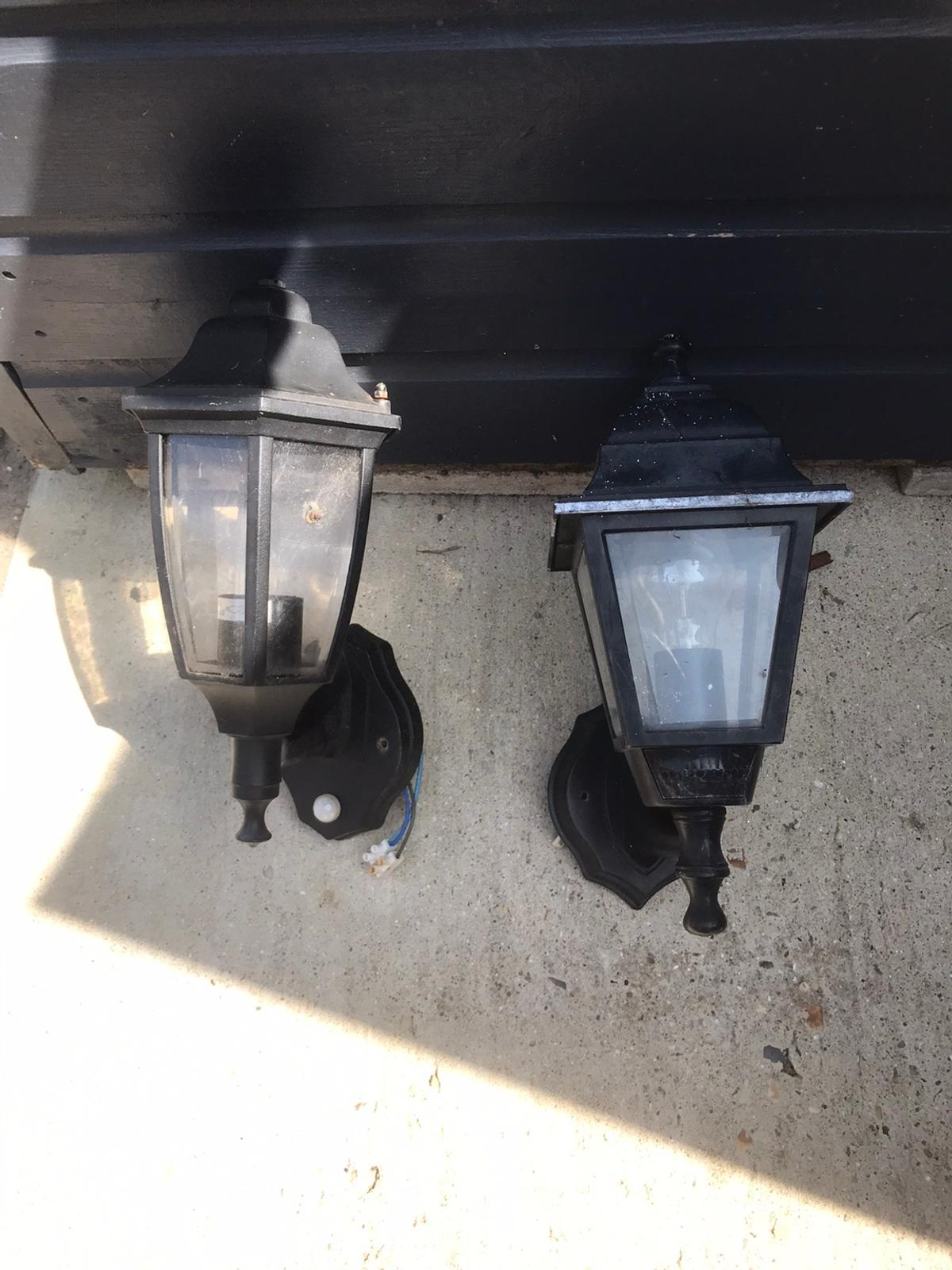 Two outside lights bought but never used.