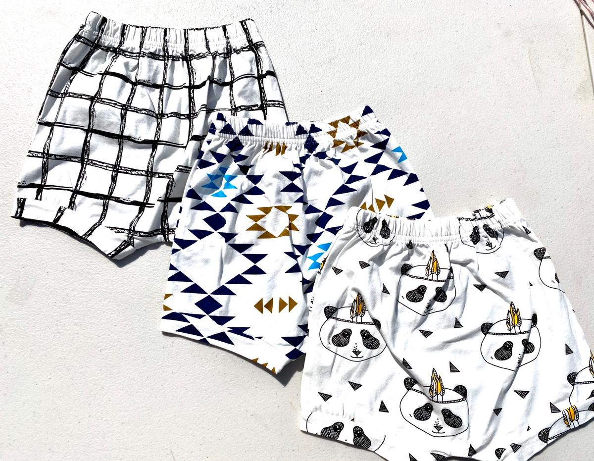 3x 2 piece sets 3 pairs shorts All new Sizes from 12 months to 4 years All available individually
