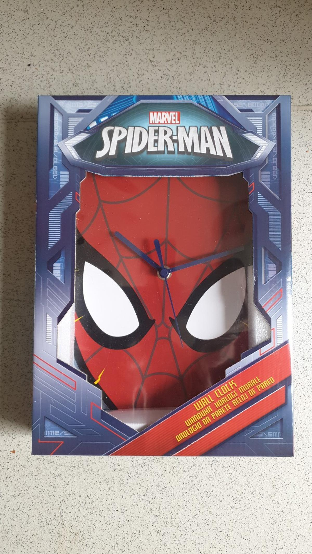 BRAND new spiderman clocks . we have a few left we do all sorts of clocks. 07534981206