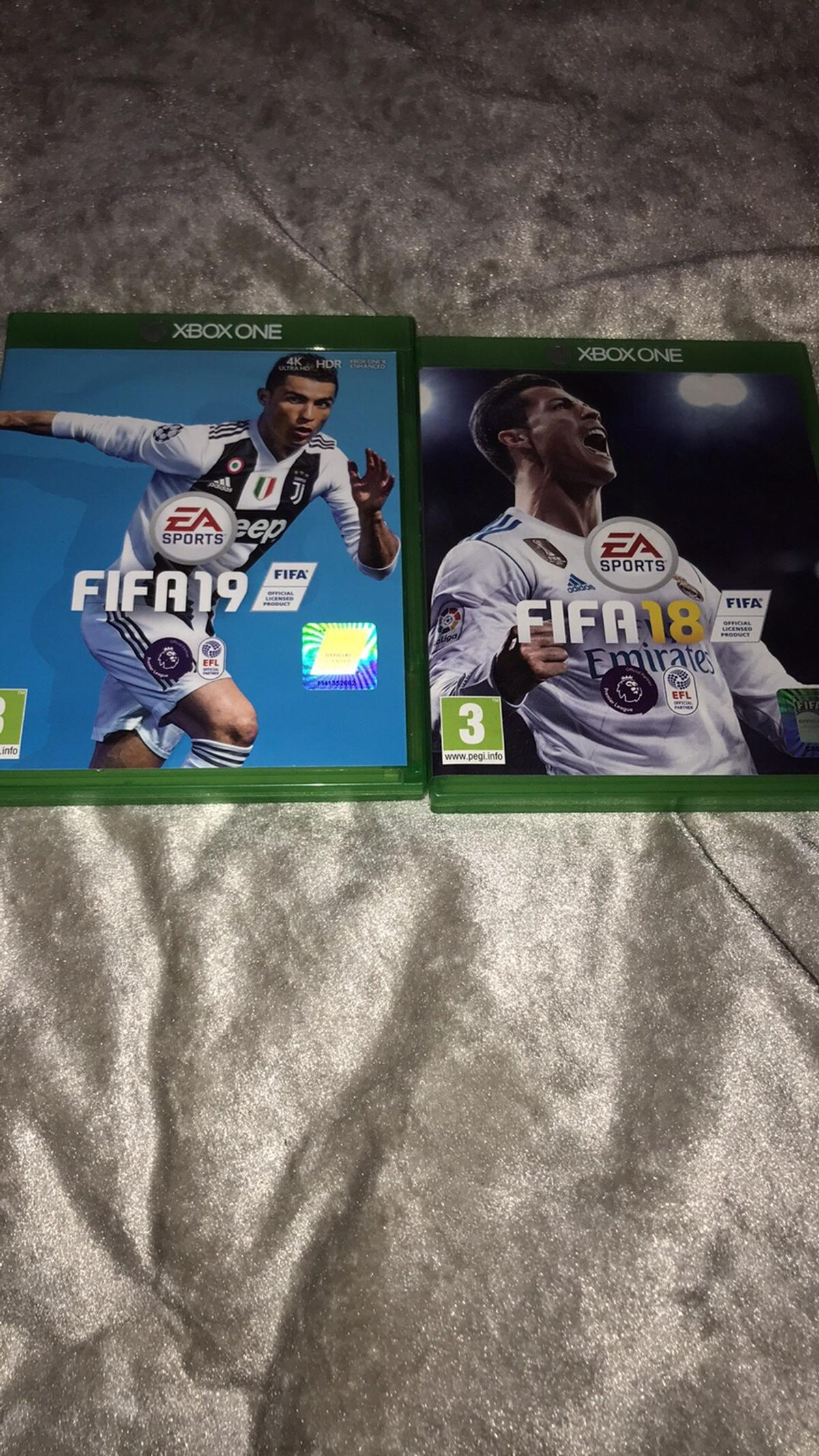 Fifa 18 and 19 very good condition