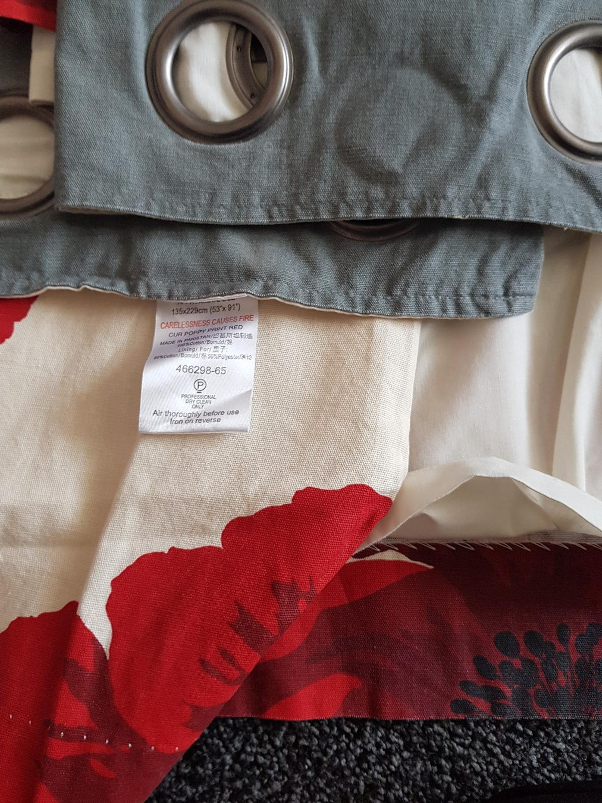 from next they are lined really good condition comes from a smoke and pet free home