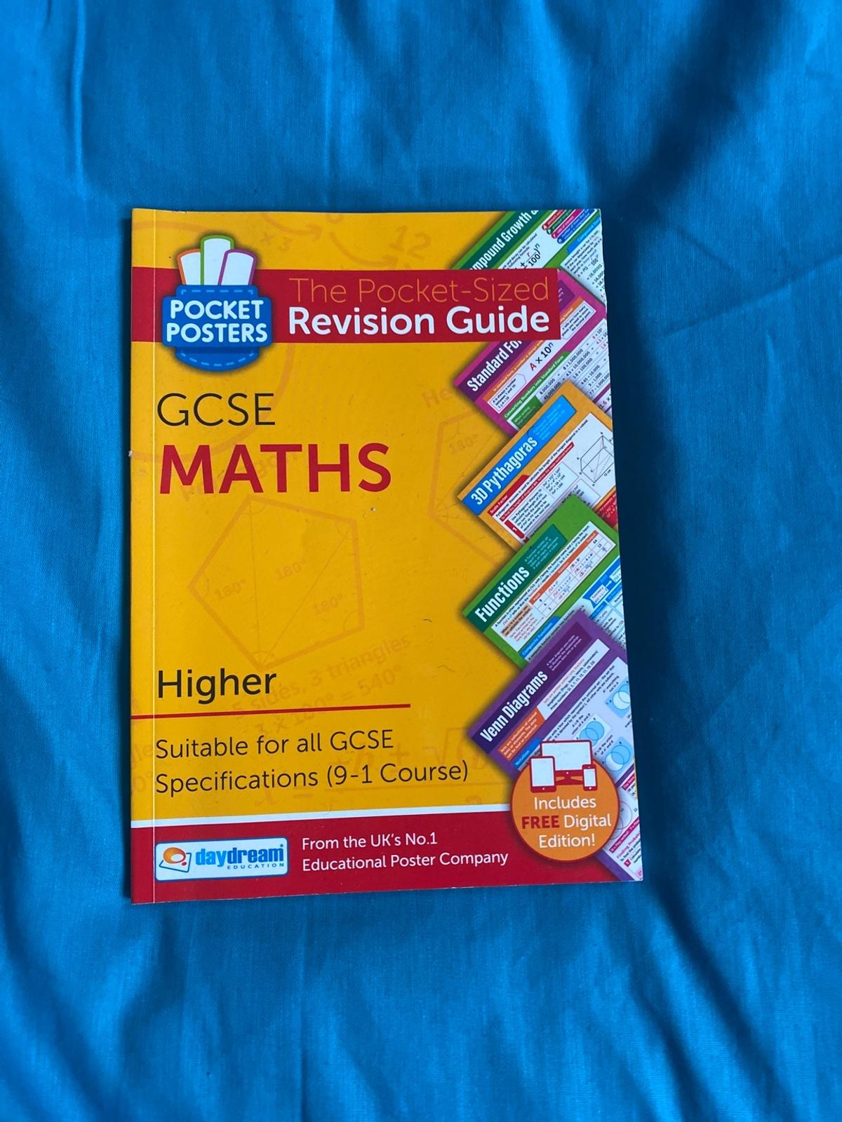 Revision guide Comes with interactive app Barely used