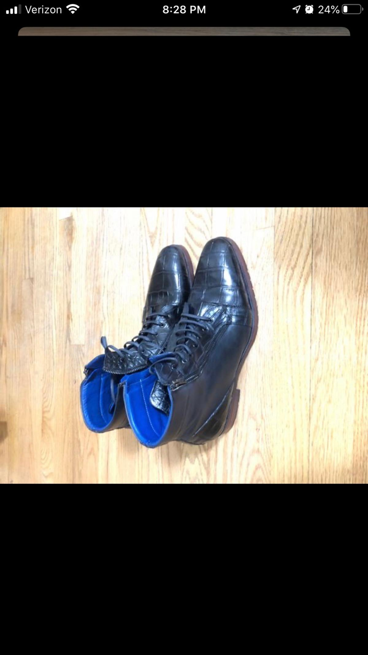 Nice quality boots that will last a life time. Size 13.