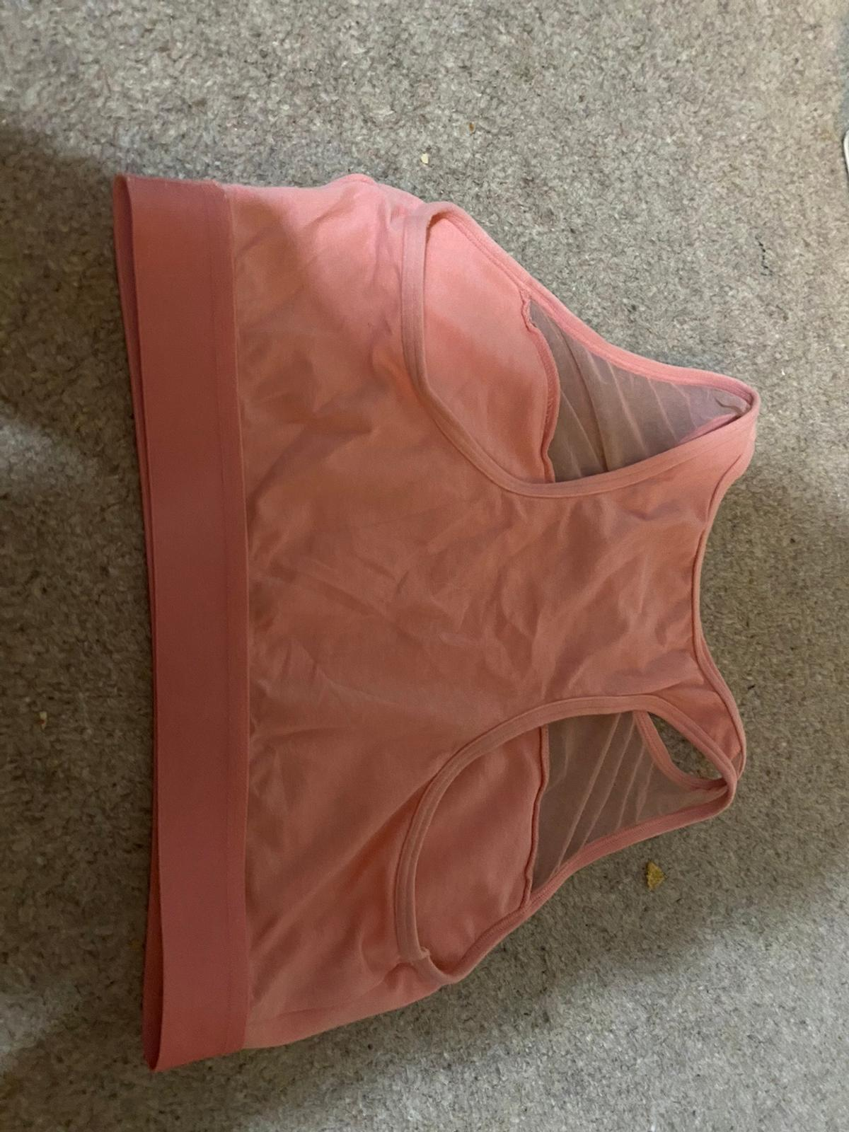 Tommy Hilfiger pink sports bra Hardly worn Size small Would fit uk 8-10