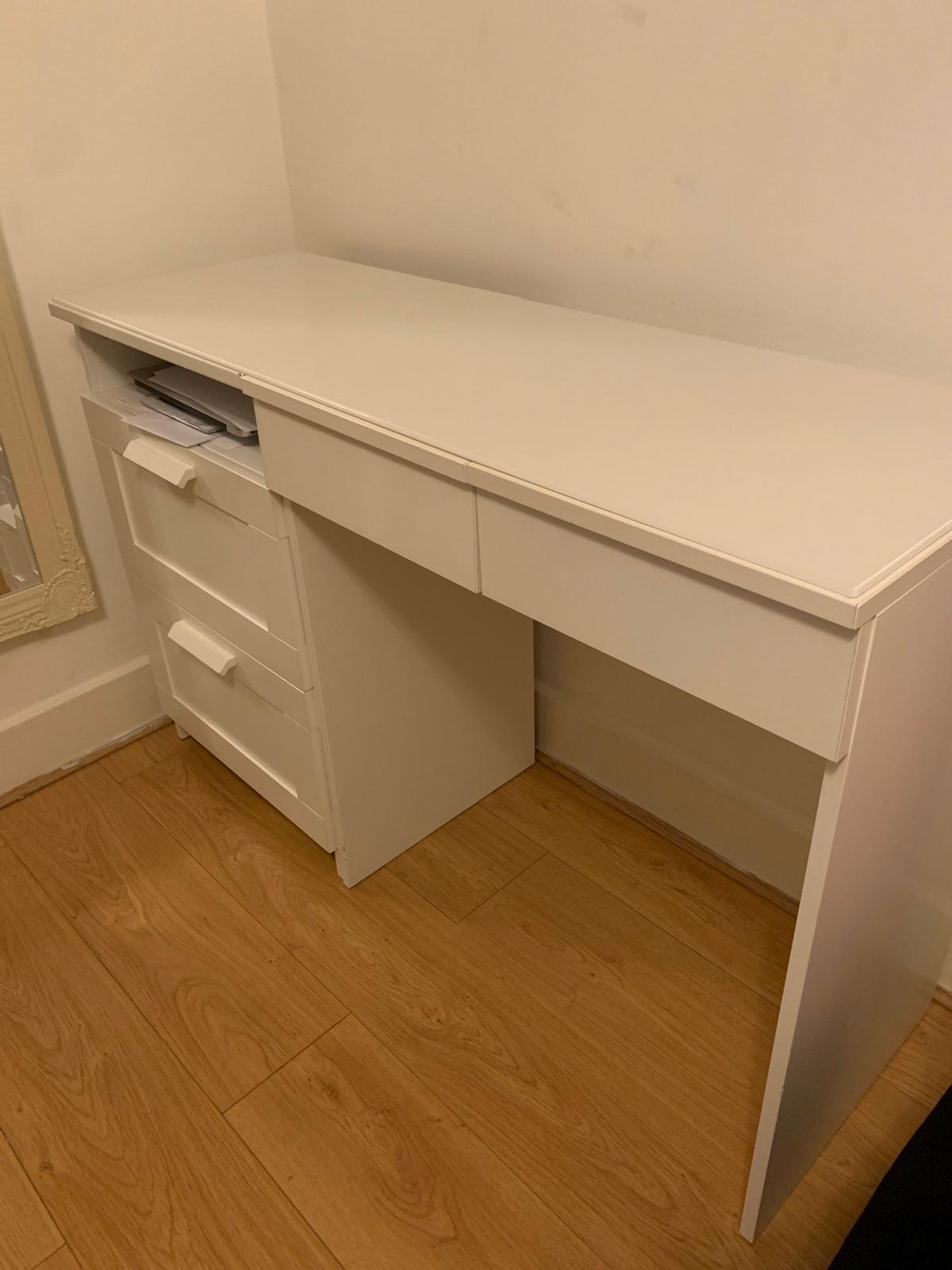 Ikea White Brimnes Dressing Table In W14 Fulham For 90 00 For Sale Shpock