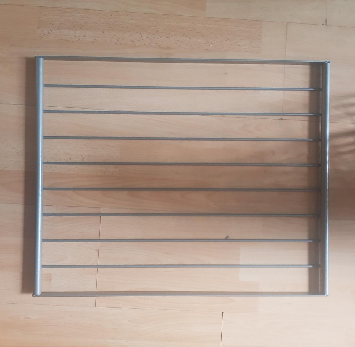 Why not take the time to organise your space with this great package or wardrobe sorting accessories?  Our Pax Wardrobe was dismantled and sold and I now have these items left for sale.  All to fit 53.5 x 43.5 approx  5 wire shelves 1 trouser rail hanger  2 clothes rails (46.5cm)  (some fitting rails and screws supplied too)  Item to be collected from St.Johns, Lewisham.