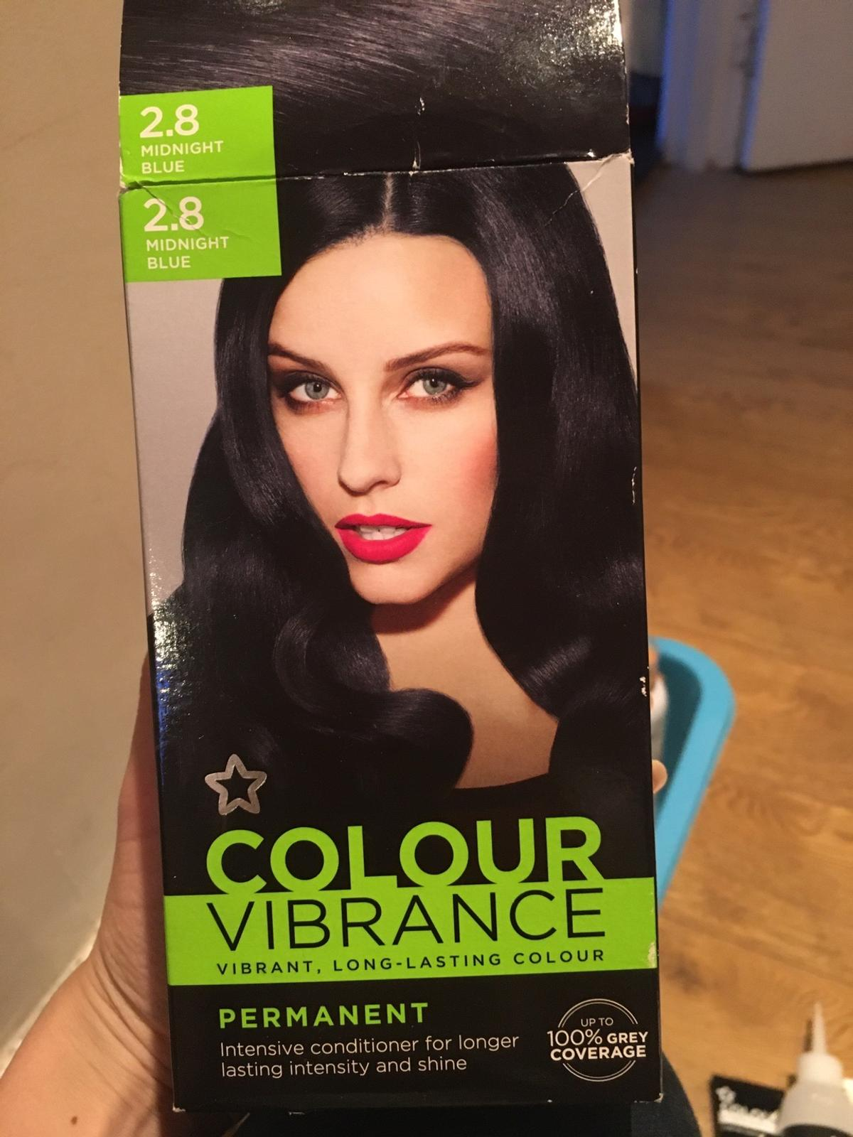 Colour Vibrance Hair Dye Permanent  New! Tube is sealed as seen on picture! Complete pack  Pick up only from SW16  See my other items - house clearance