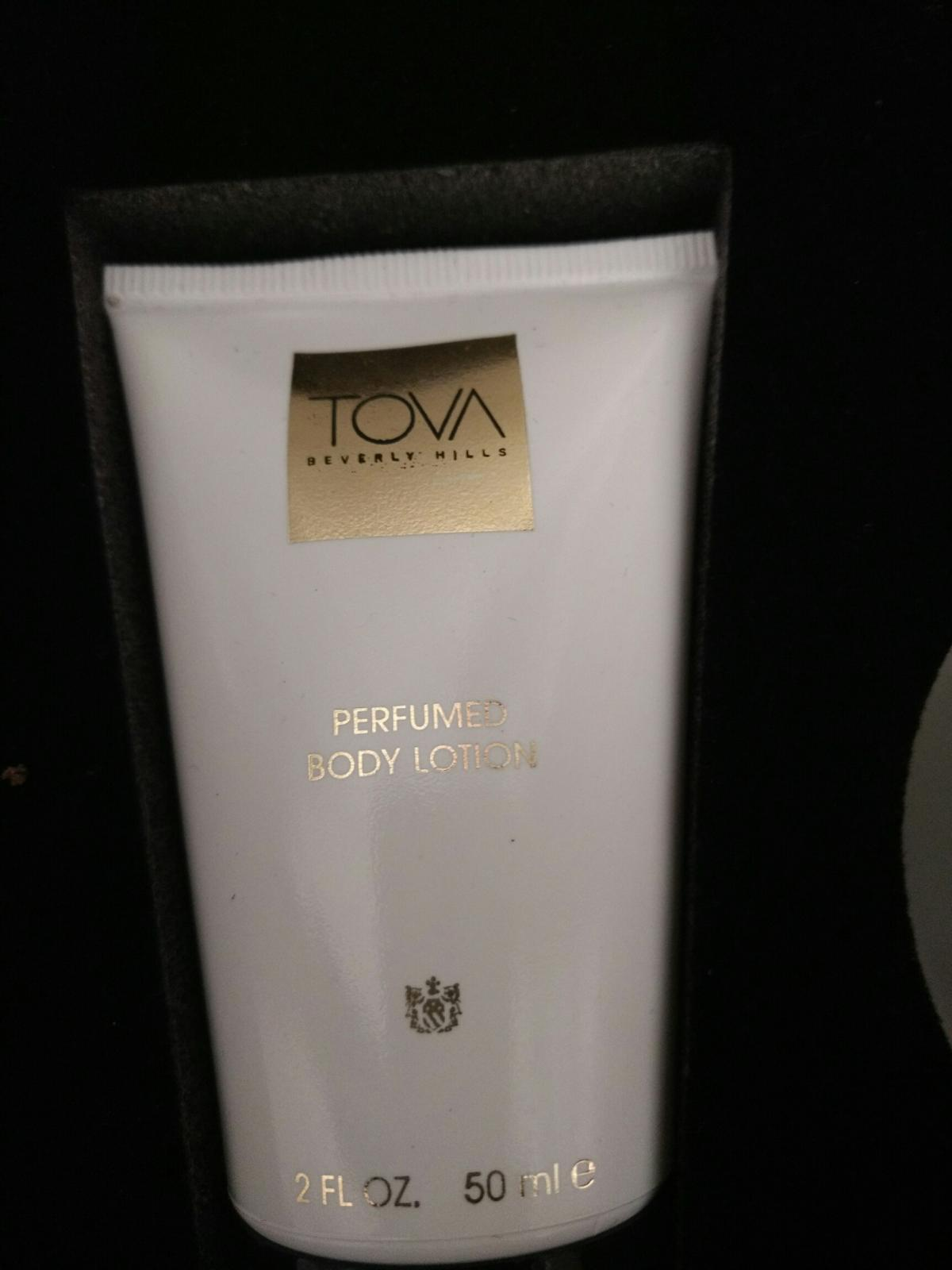 TOVA beverly hills this is one of the best women perfumes I have ever smelled. It comes with 30ml perfume spray, perfumes lotion and perfumed bath shower gel.