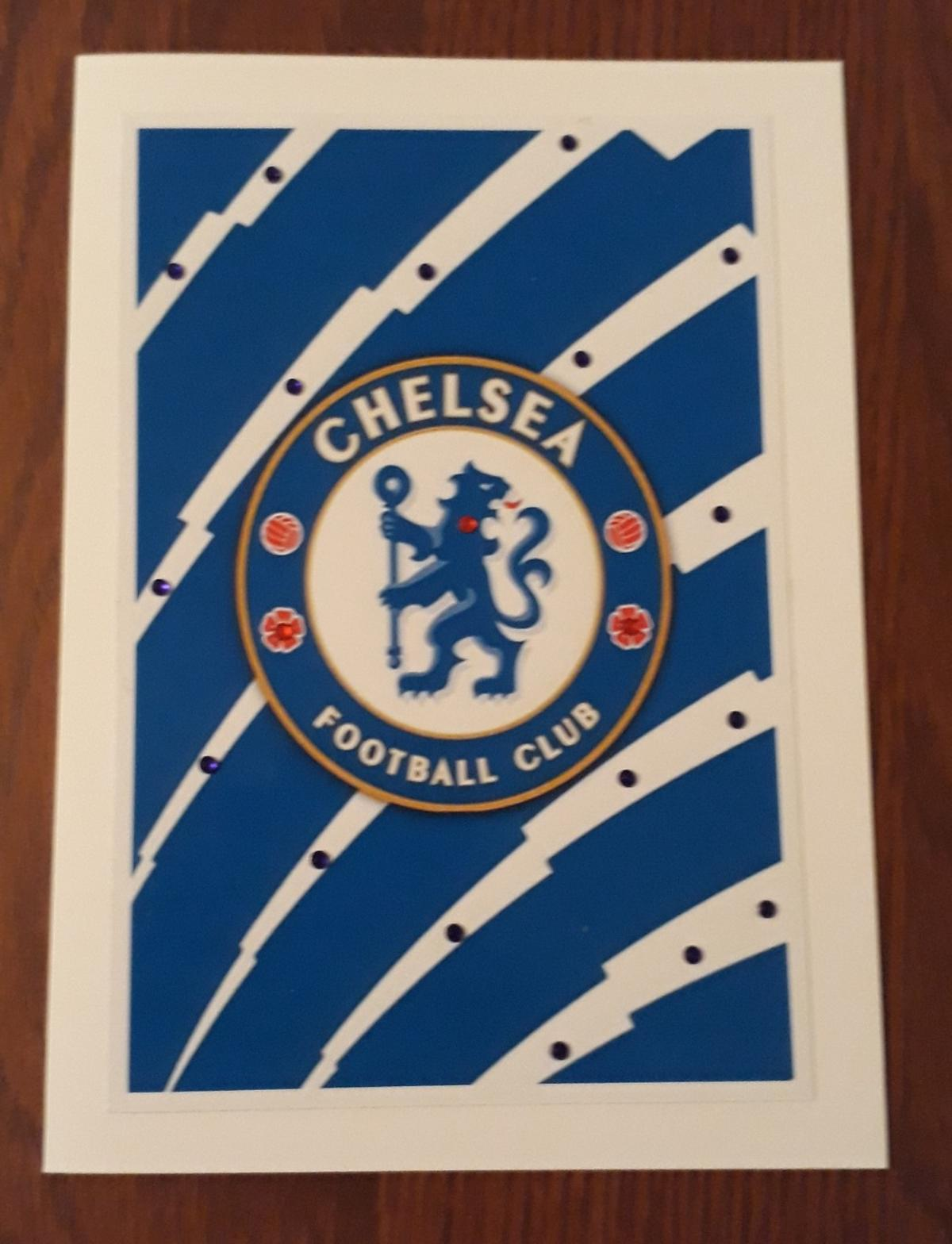 POSTAGE IS AVAILABLE OR CONTACTLESS PICK-UP.. A HANDMADE CARD CHELSEA BLANK INSIDE FOR YOUR PERSONAL MESSAGE.. COMES IN A SEALED PROTECTIVE BAG..