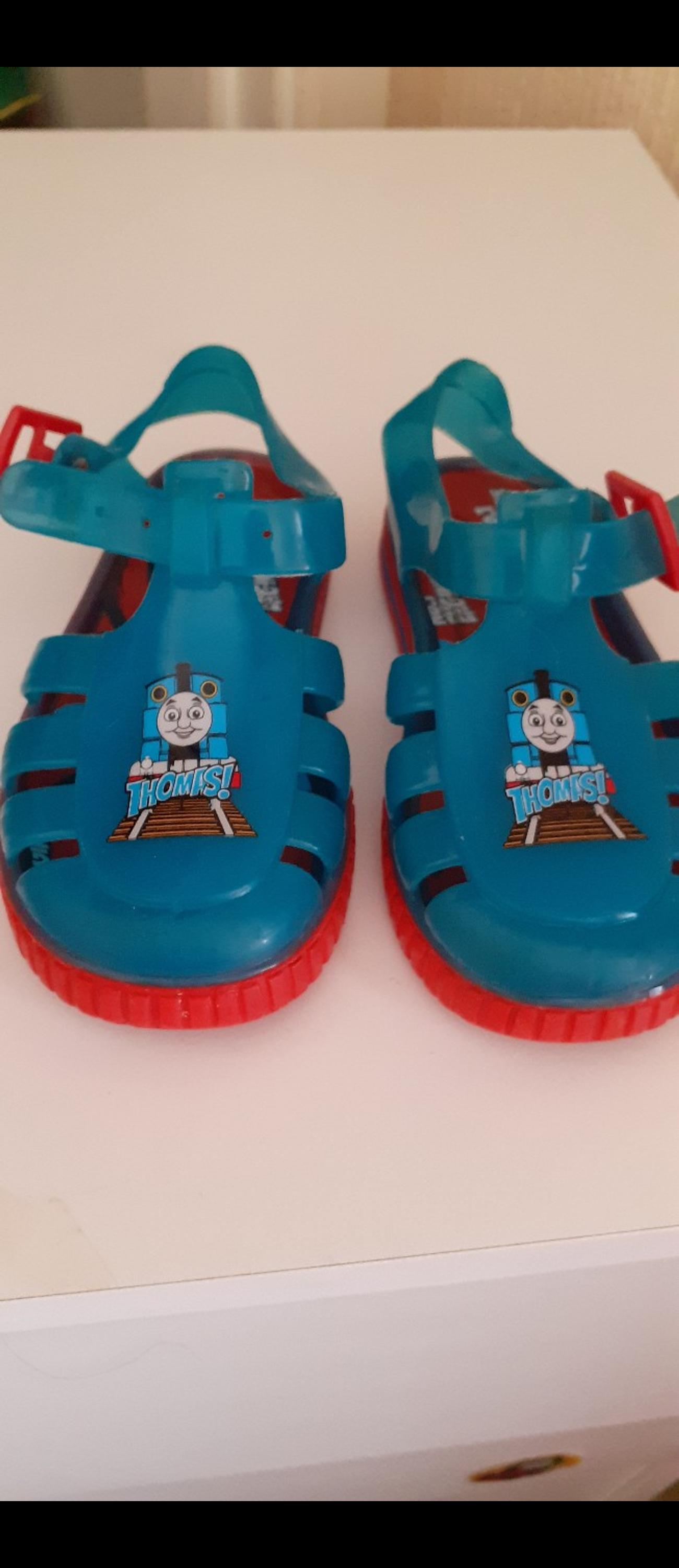 size 6 thomas the tank jelly shoe. perfect for any child who loves Thomas. collection bootle or postage at buyers expense.