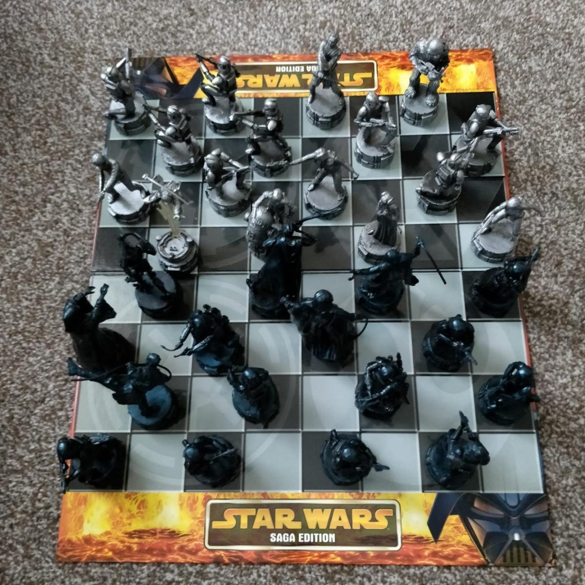 A lovely collectable Chess set for them Starwars fans.